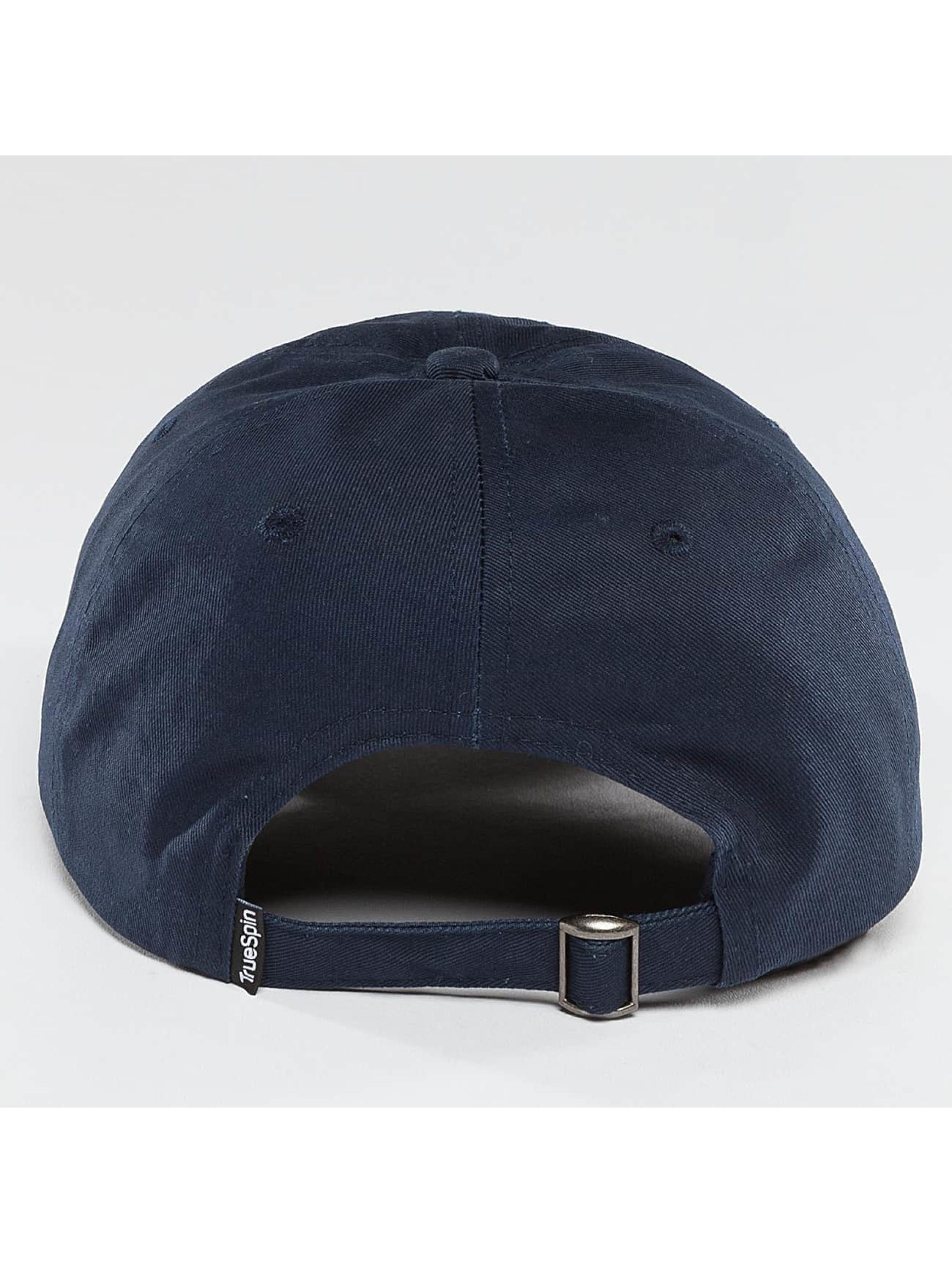 TrueSpin Snapback Cap Unstructured Dad blau