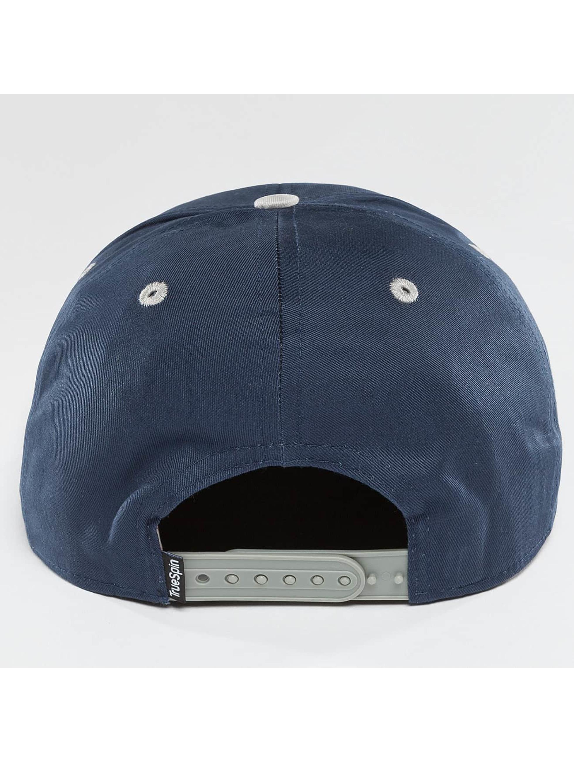 TrueSpin Snapback Cap 4 Letters Home blau