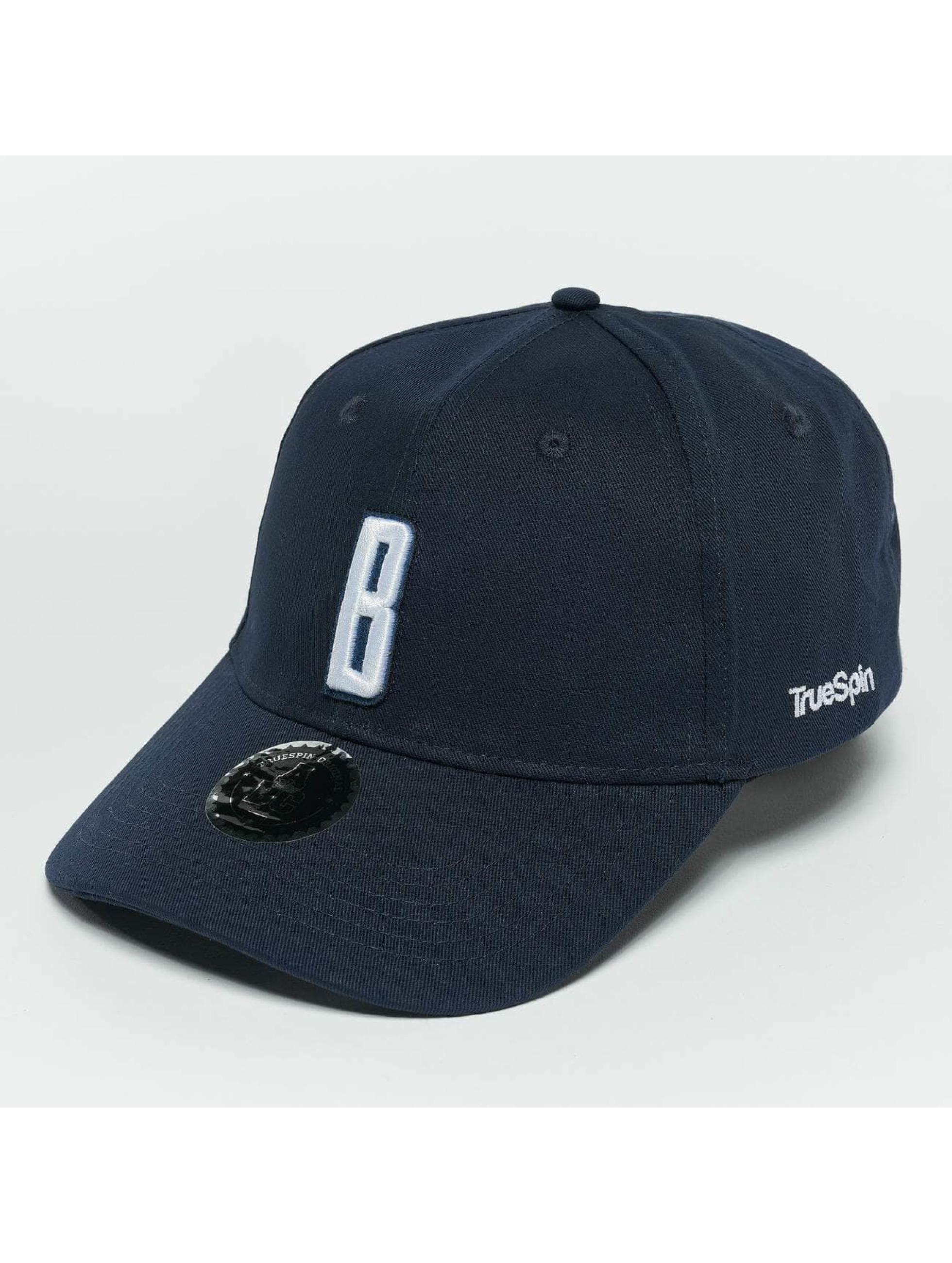 TrueSpin Snapback Cap ABC B blau