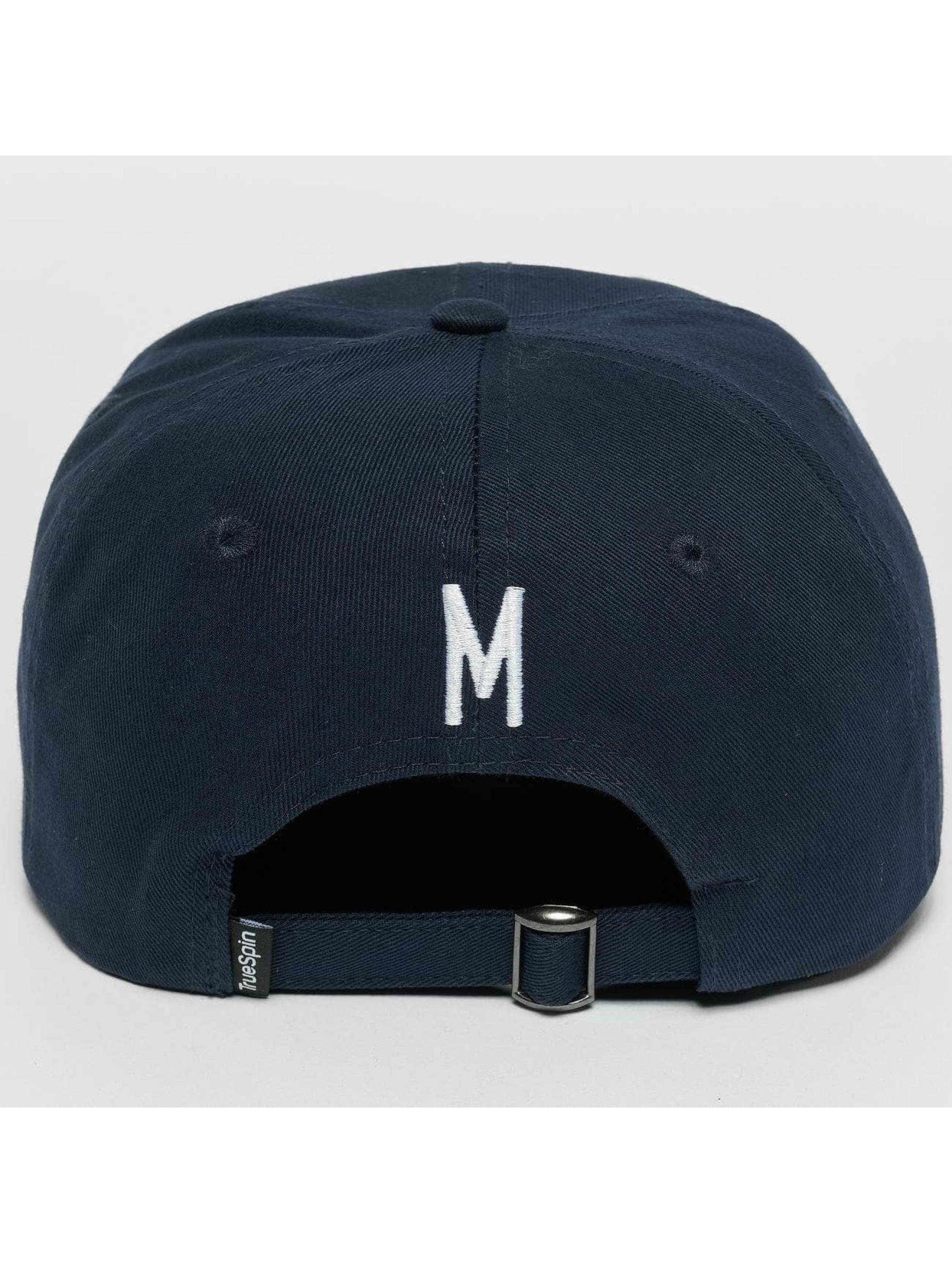 TrueSpin Snapback Cap ABC M blau