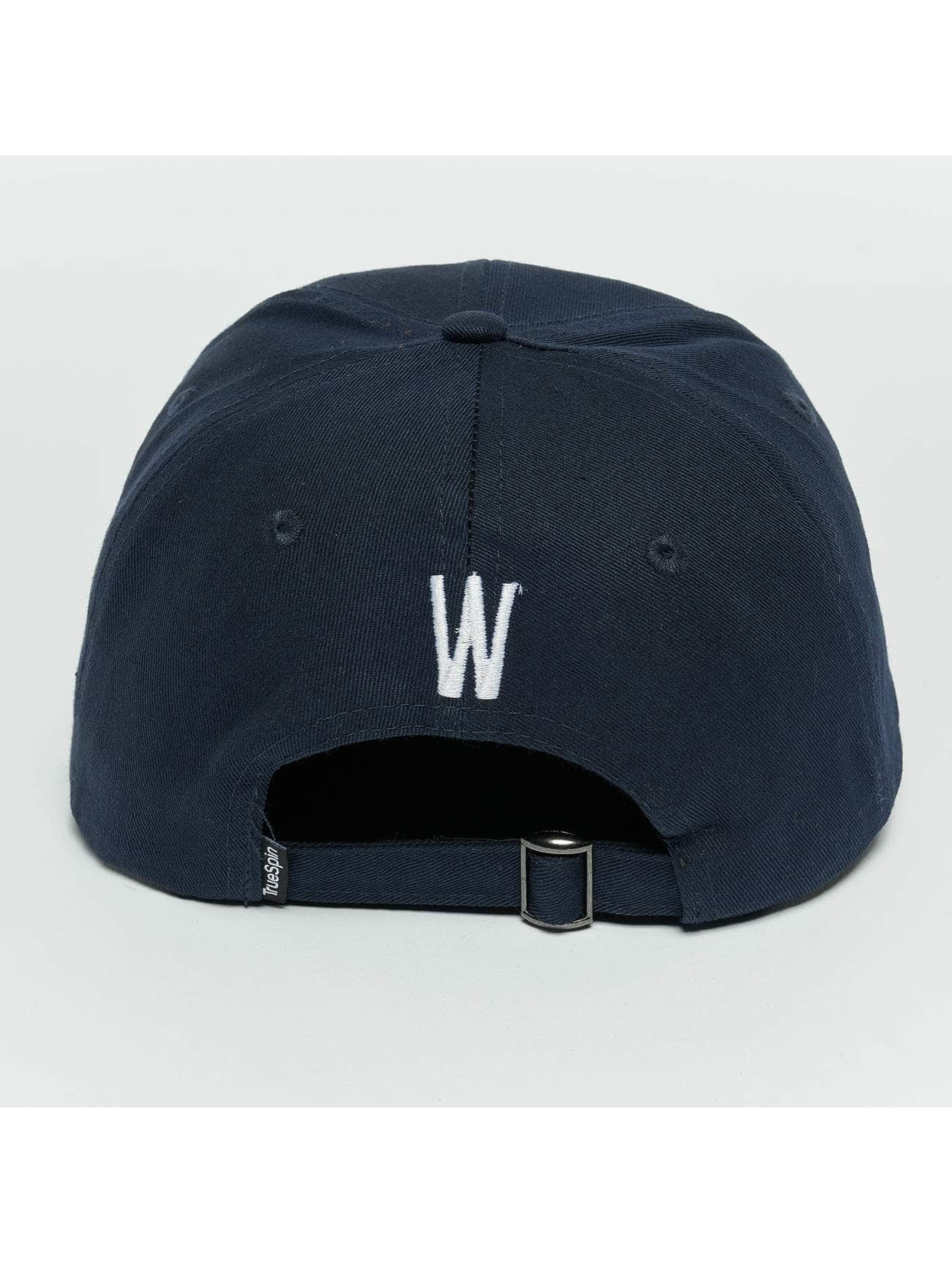 TrueSpin Snapback Cap ABC W blau