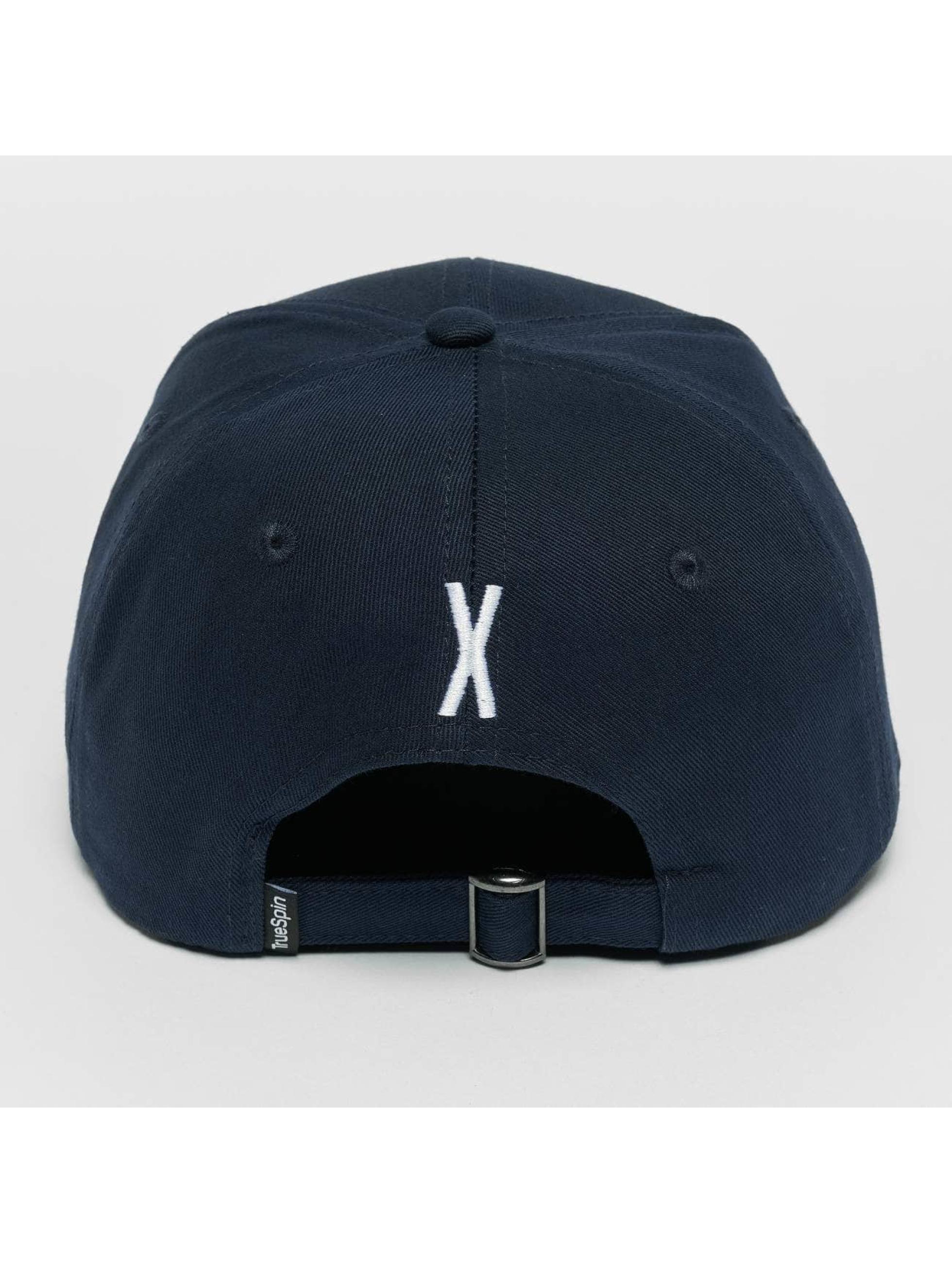 TrueSpin Snapback Cap ABC X blau