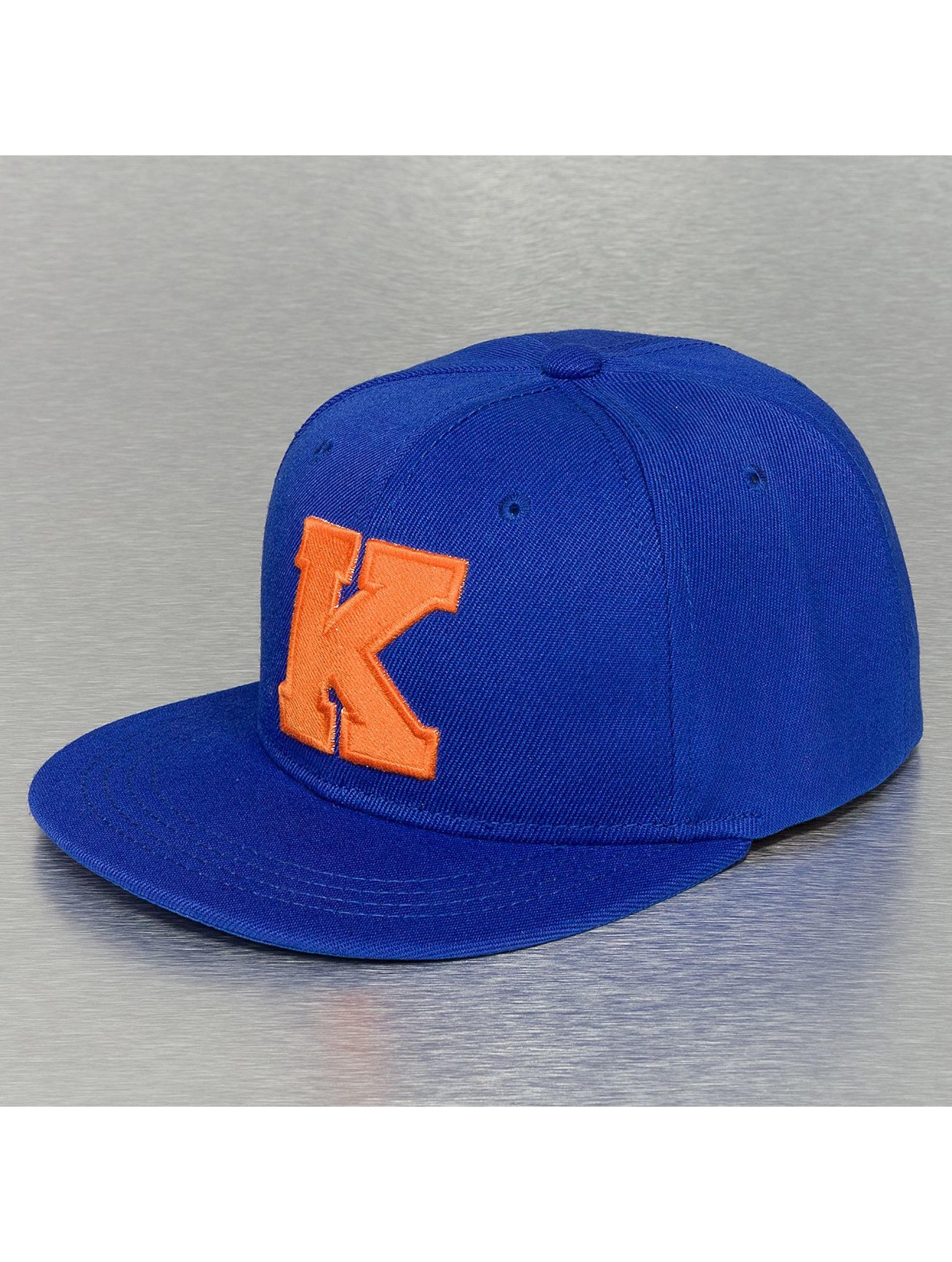 TrueSpin snapback cap K-ABC Edition blauw
