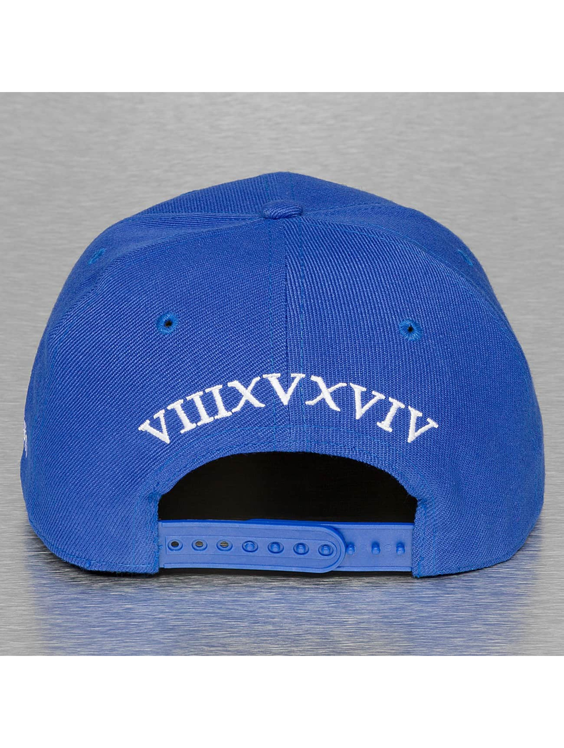 TrueSpin snapback cap Doper blauw