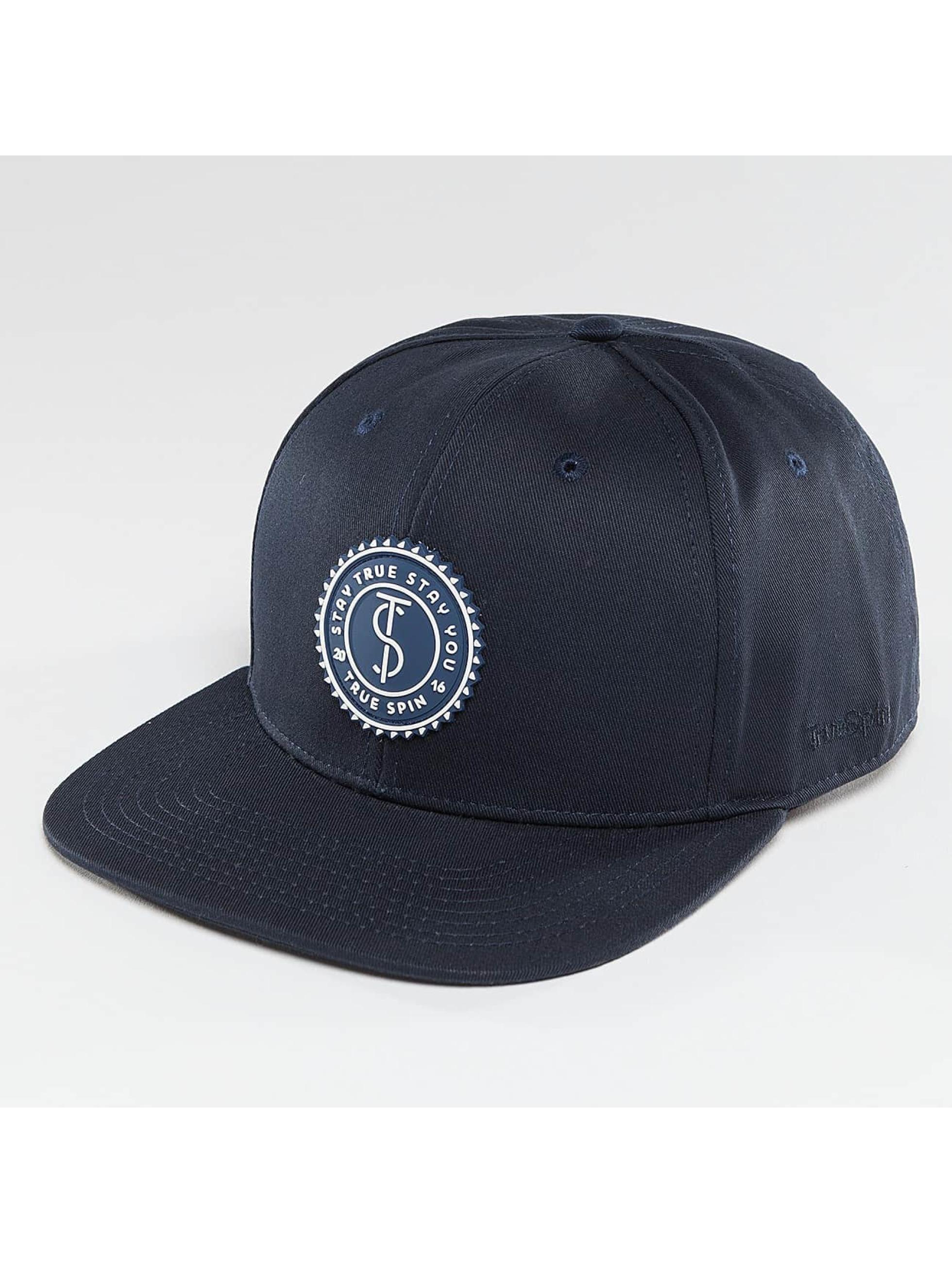 TrueSpin snapback cap Täskulap blauw