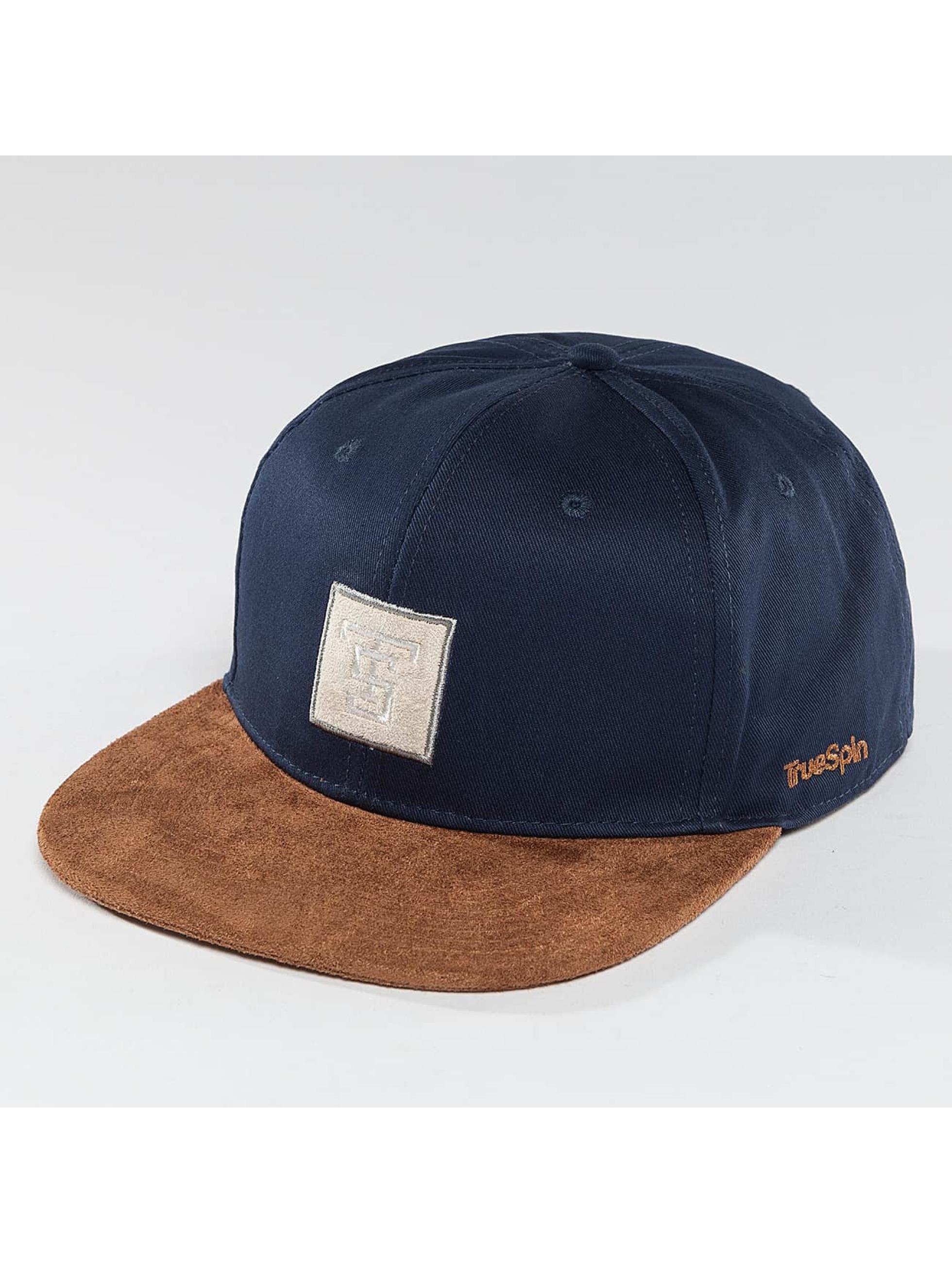 TrueSpin snapback cap Gems blauw