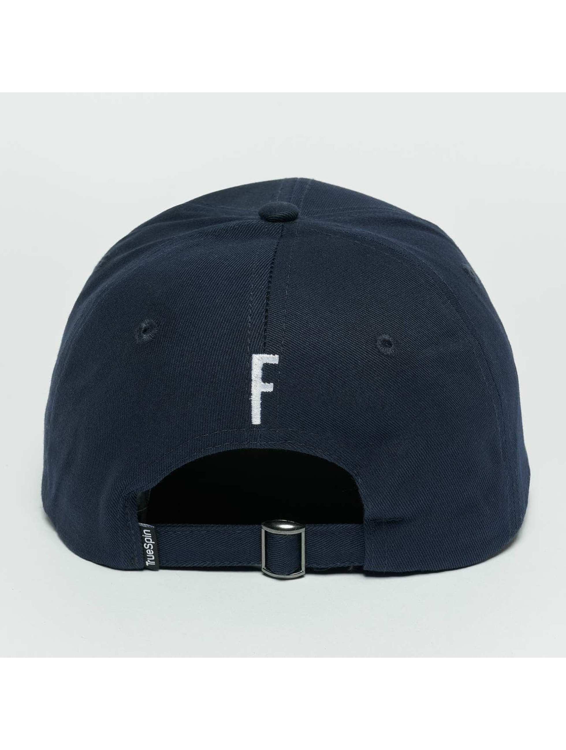 TrueSpin snapback cap ABC F blauw