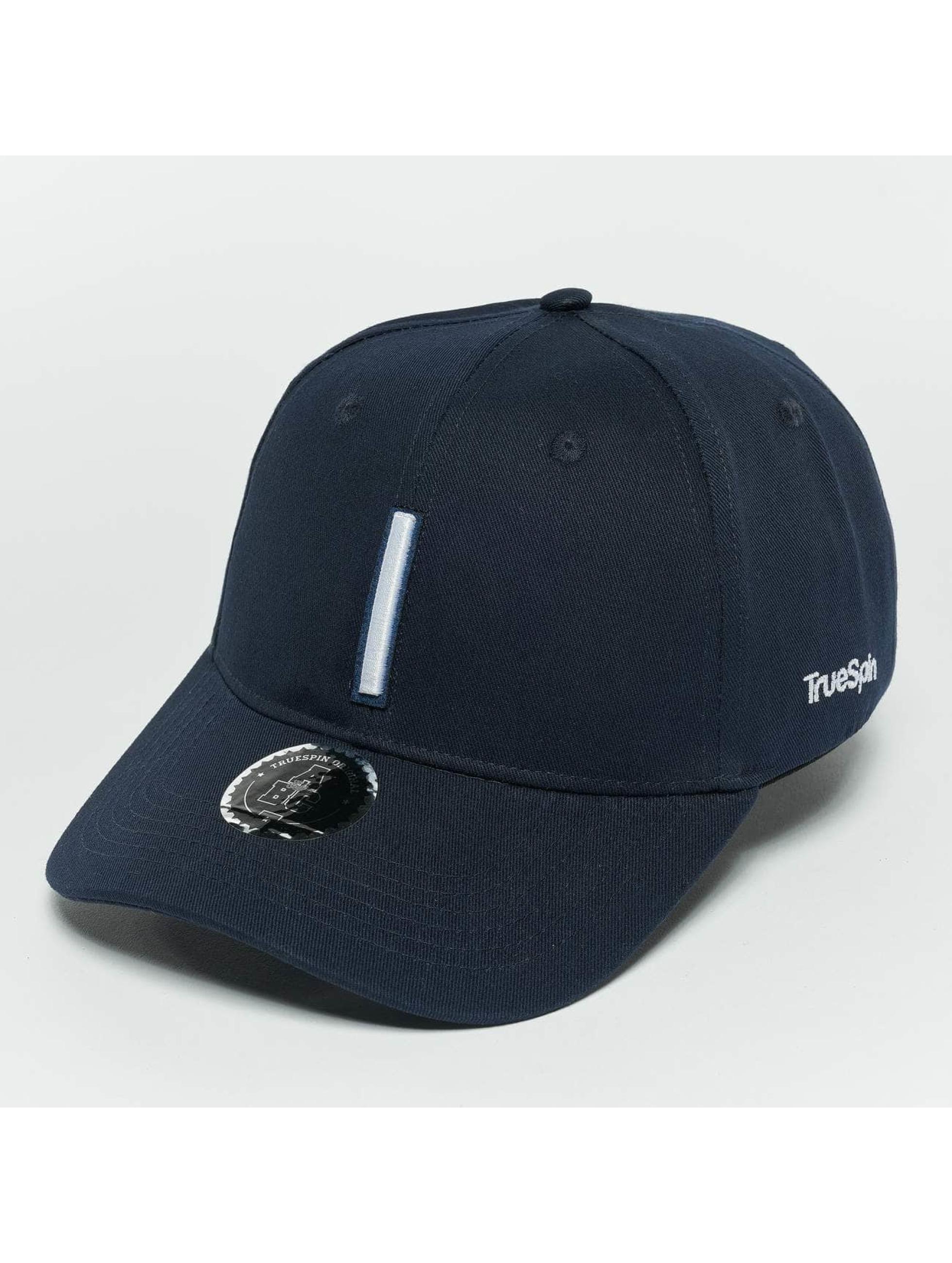 TrueSpin snapback cap ABC I blauw
