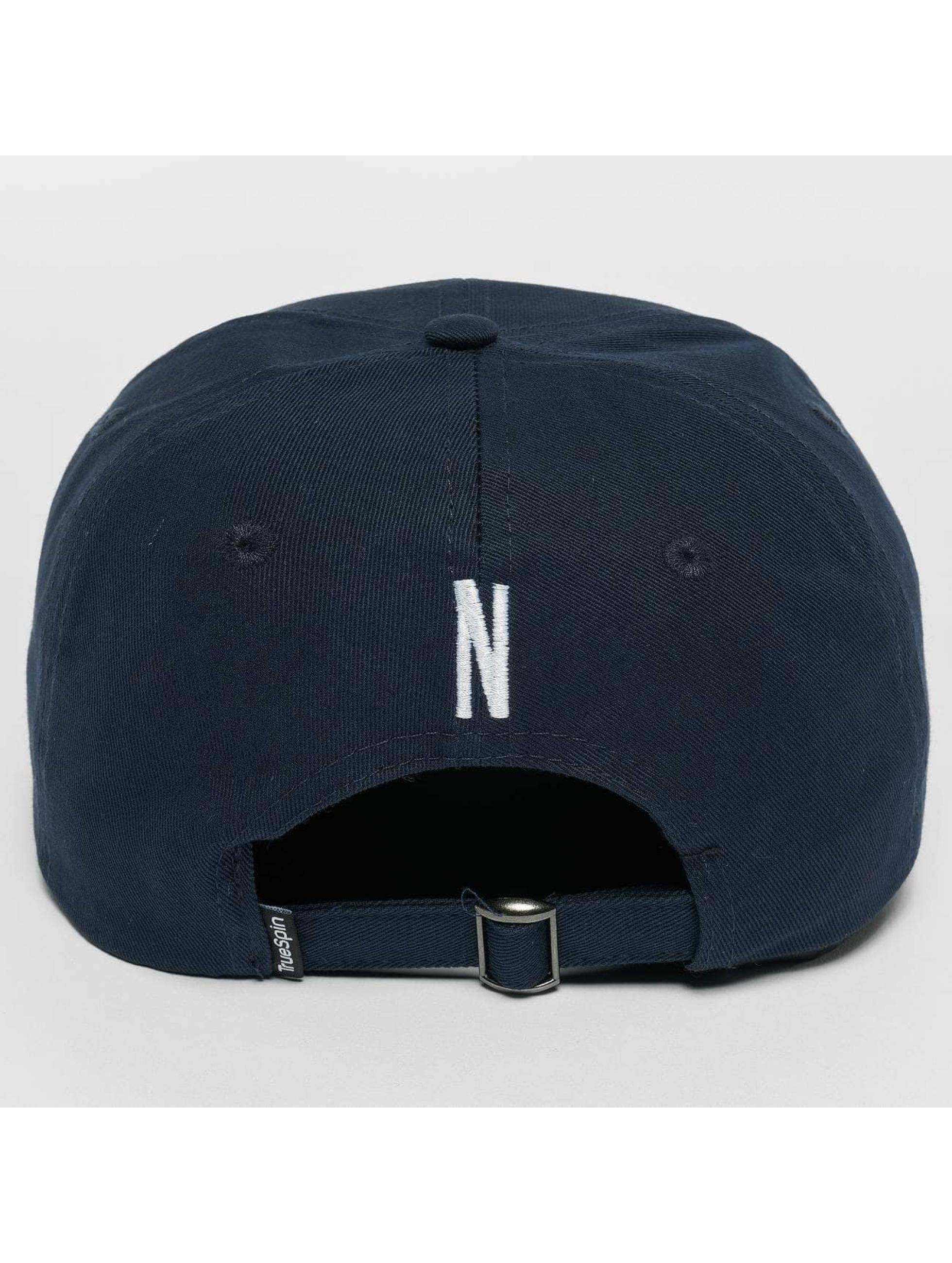 TrueSpin snapback cap ABC N blauw