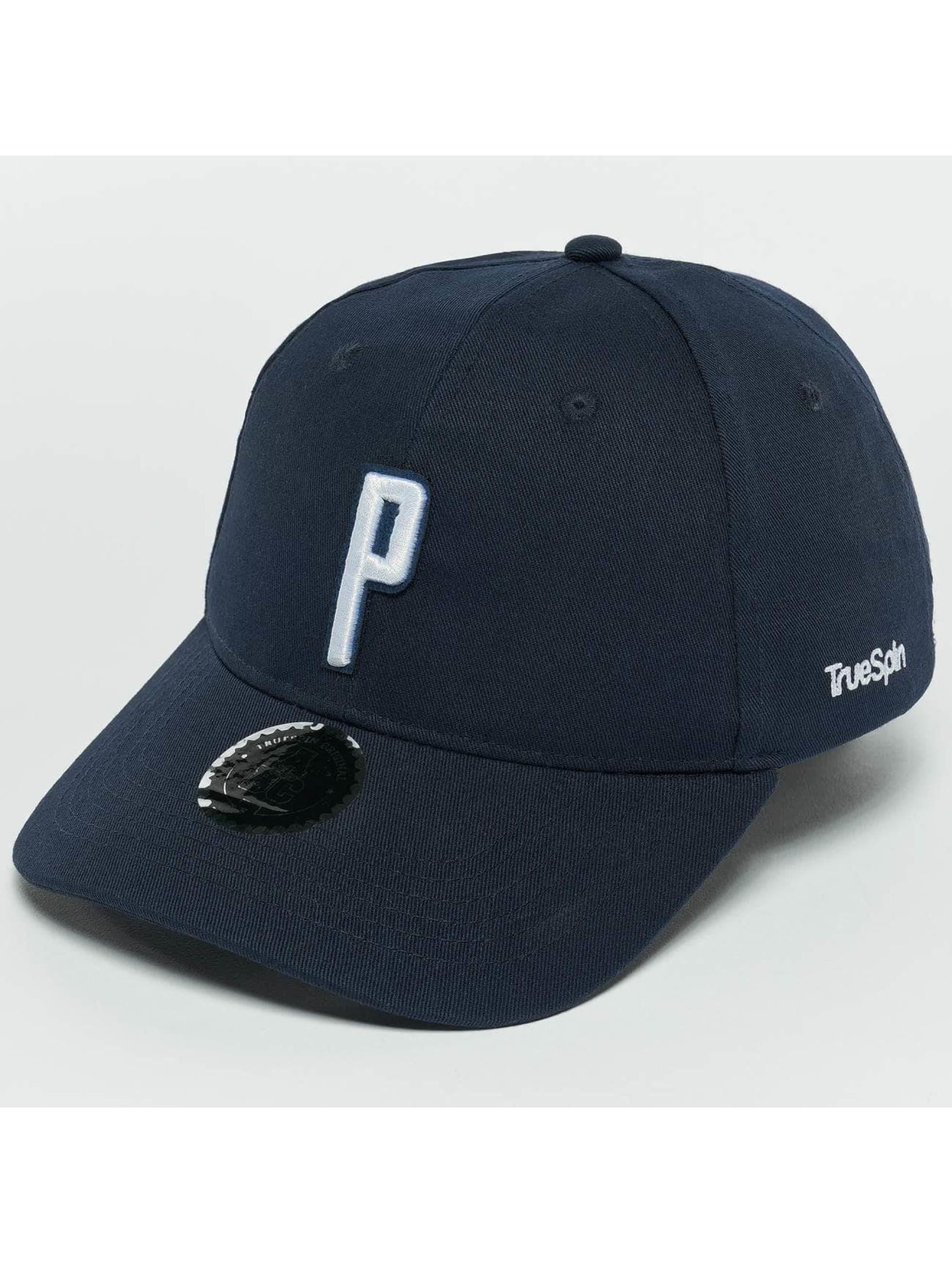 TrueSpin snapback cap ABC P blauw