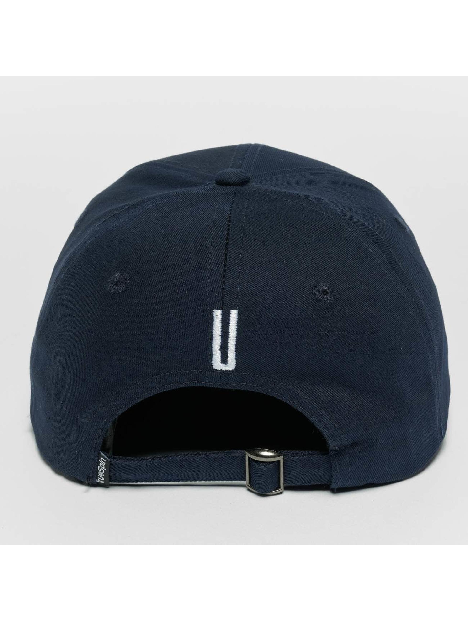 TrueSpin snapback cap ABC U blauw