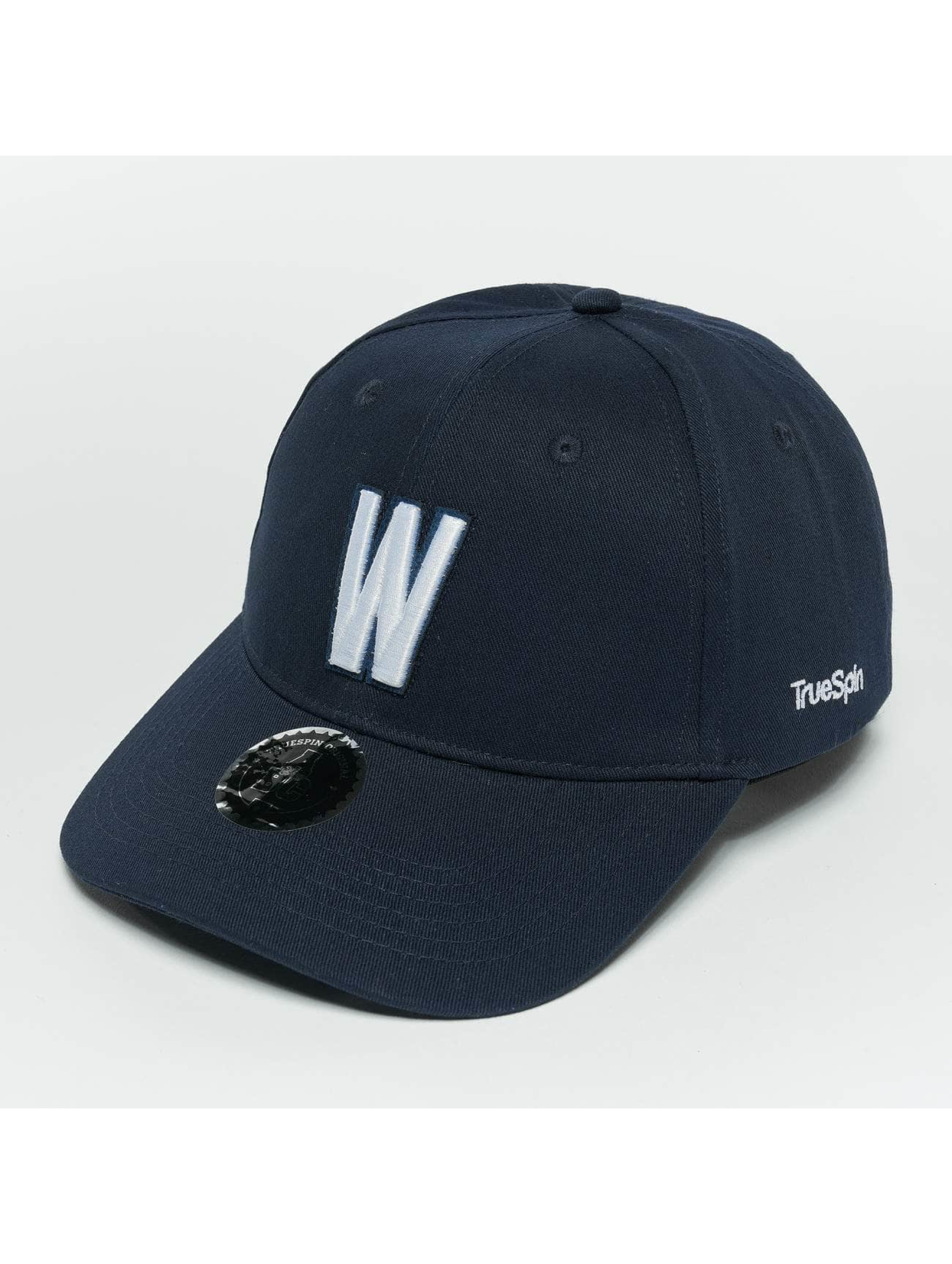 TrueSpin snapback cap ABC W blauw