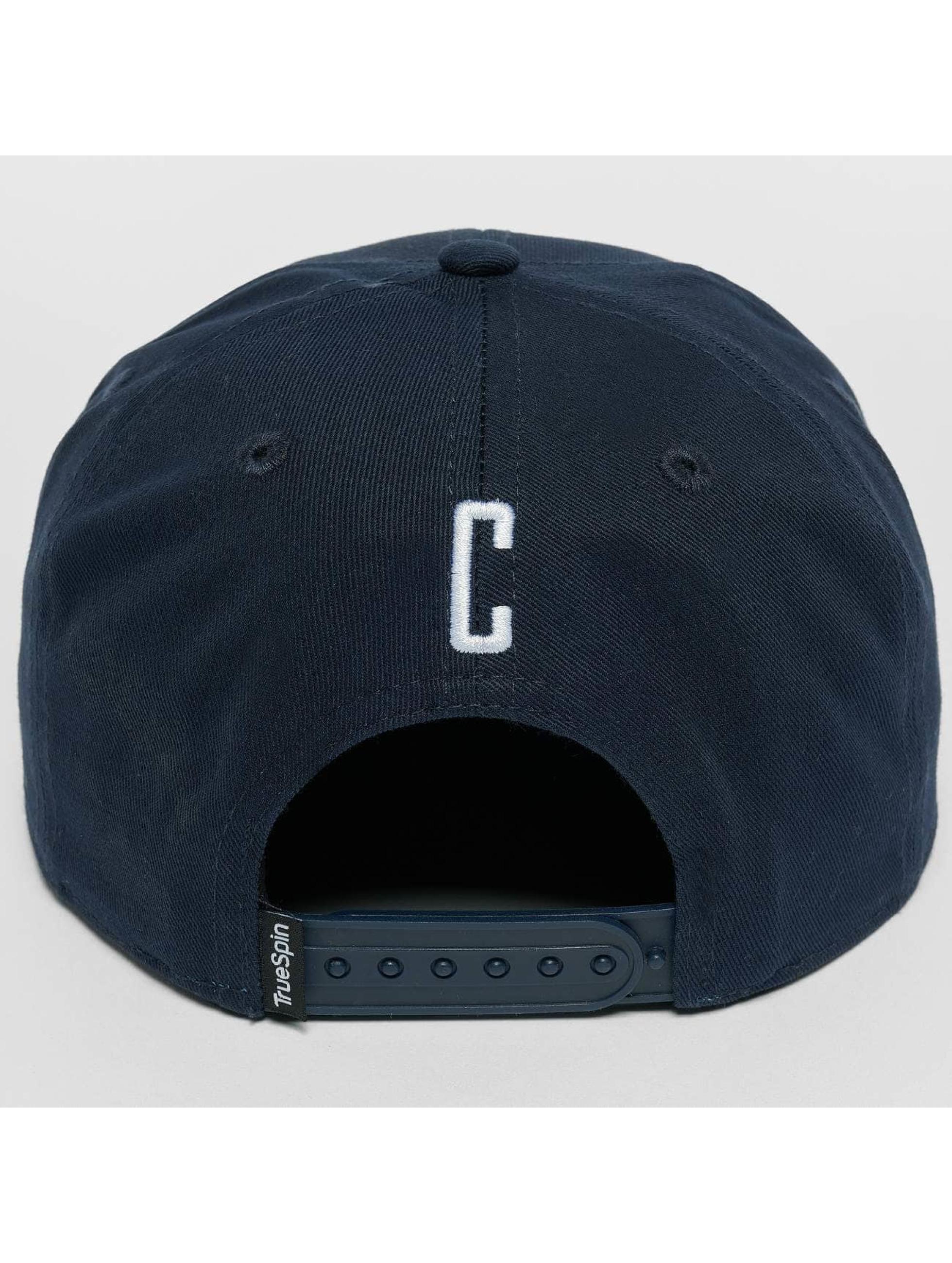 TrueSpin snapback cap Kids ABC C blauw