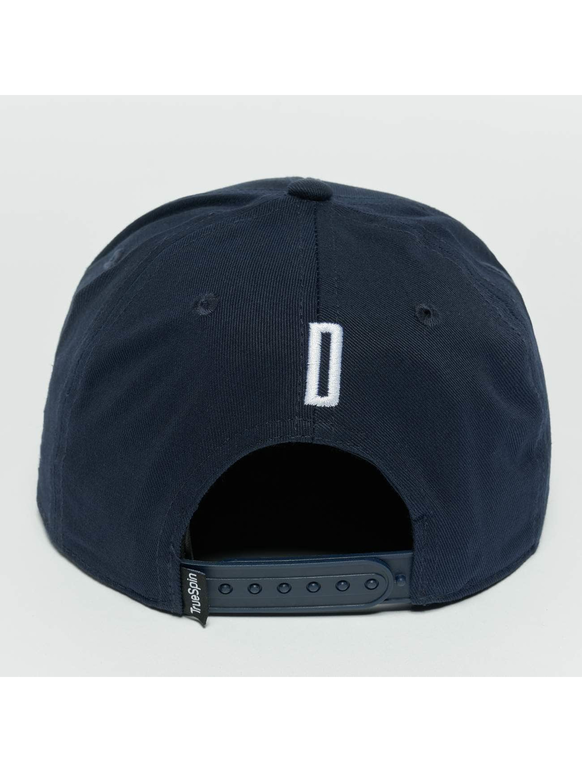 TrueSpin snapback cap Kids ABC D blauw