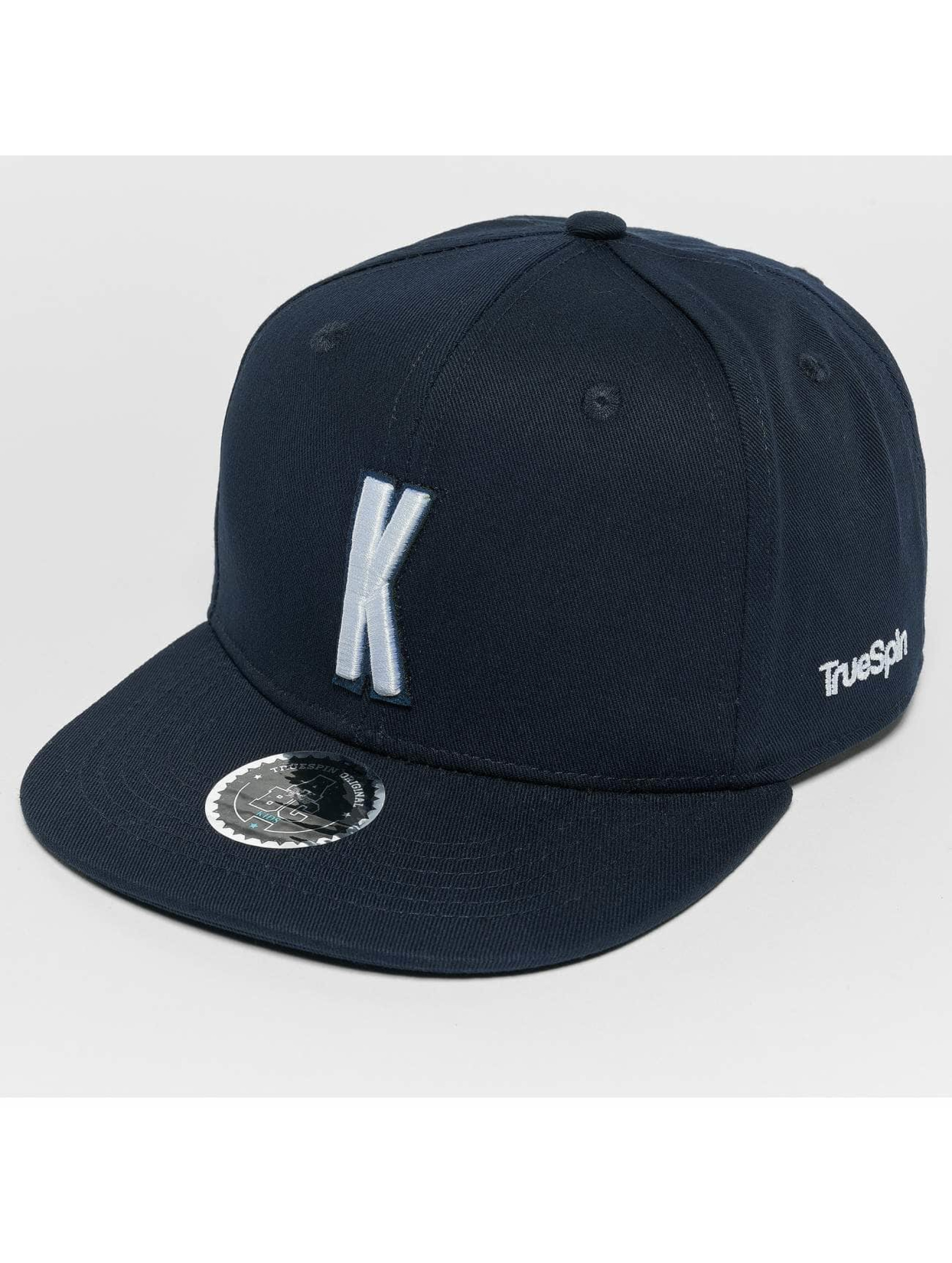 TrueSpin snapback cap Kids ABC K blauw