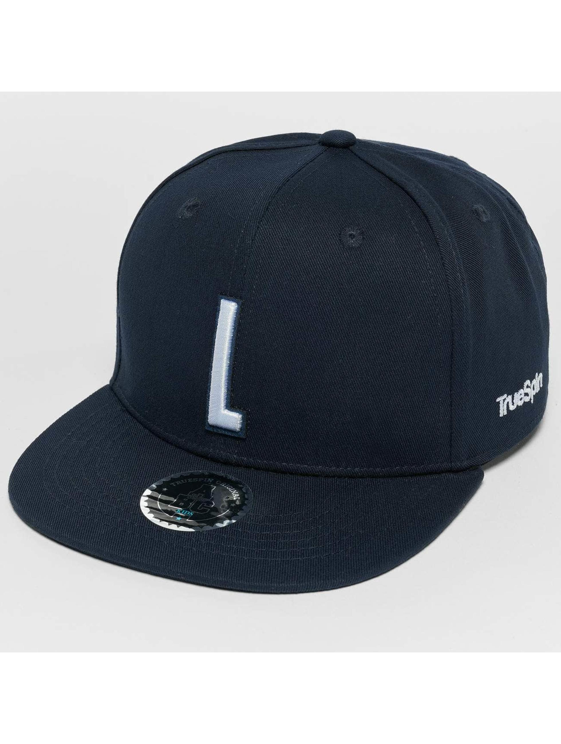 TrueSpin snapback cap Kids ABC L blauw