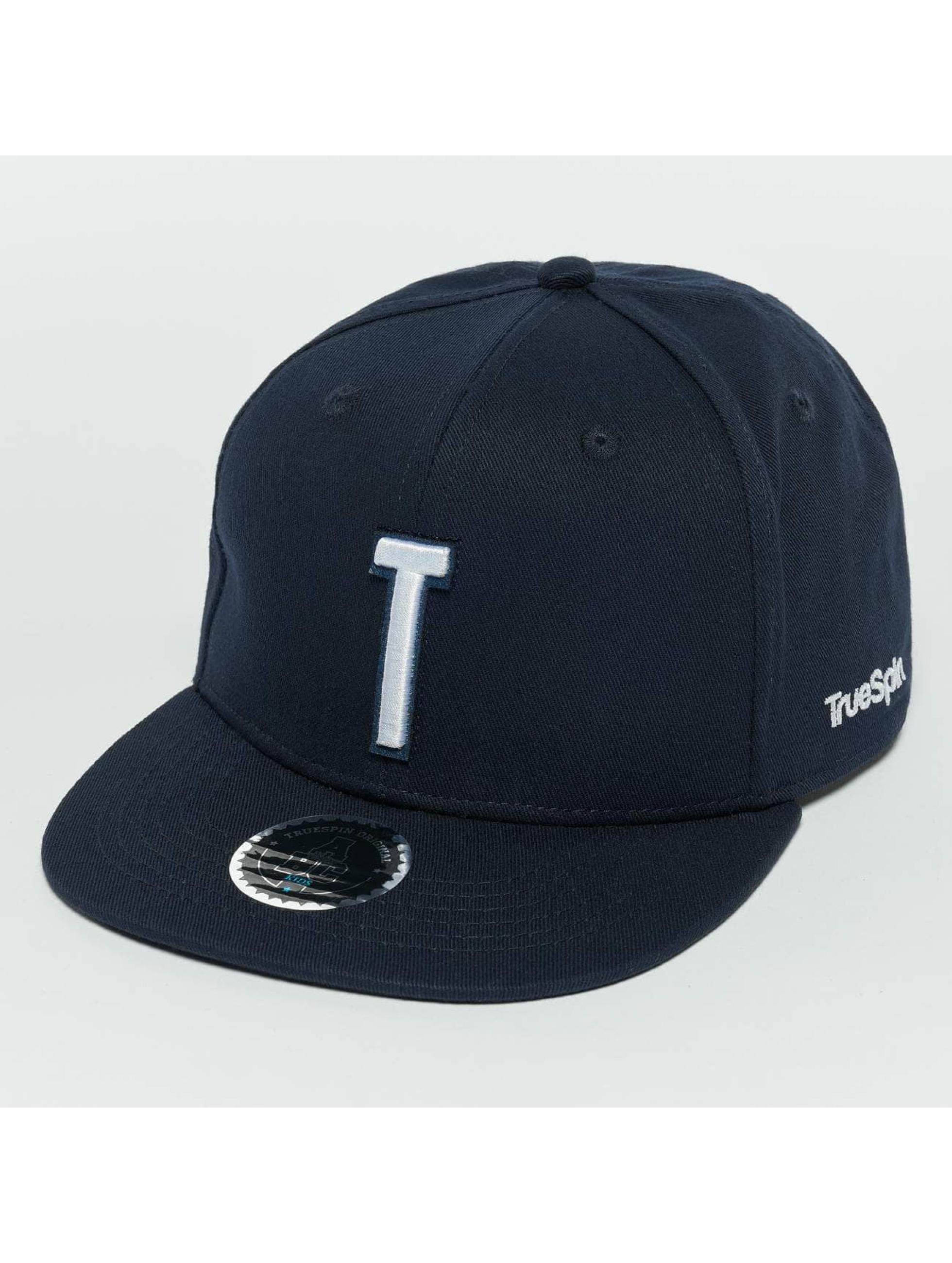TrueSpin snapback cap Kids ABC T blauw