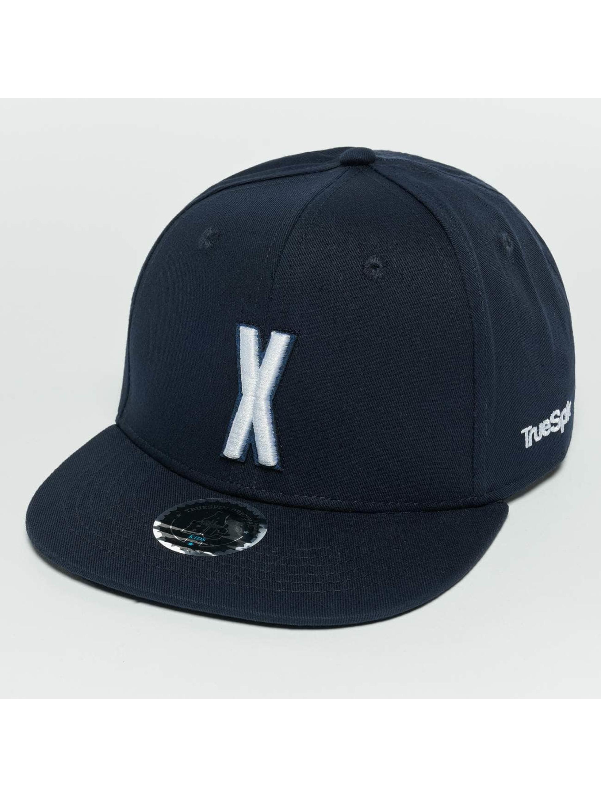 TrueSpin snapback cap Kids ABC X blauw