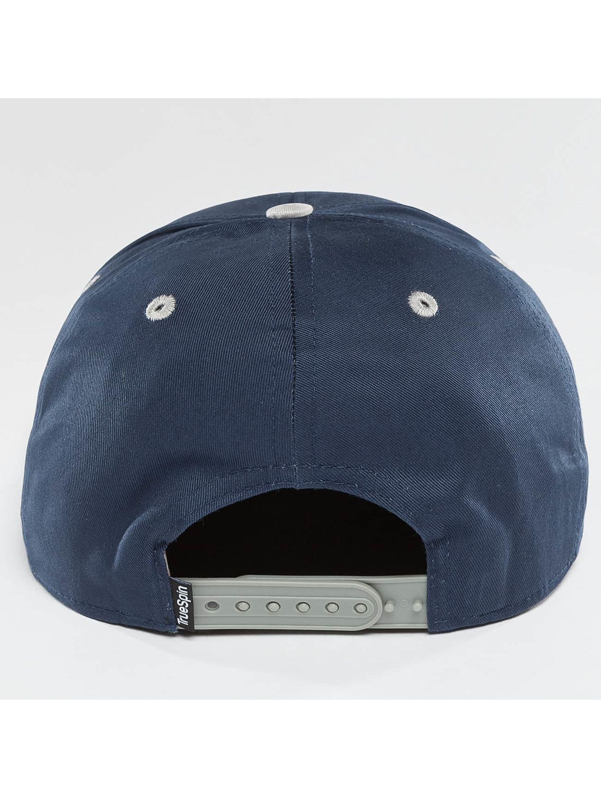 TrueSpin Snapback Cap 4 Letters Home blu