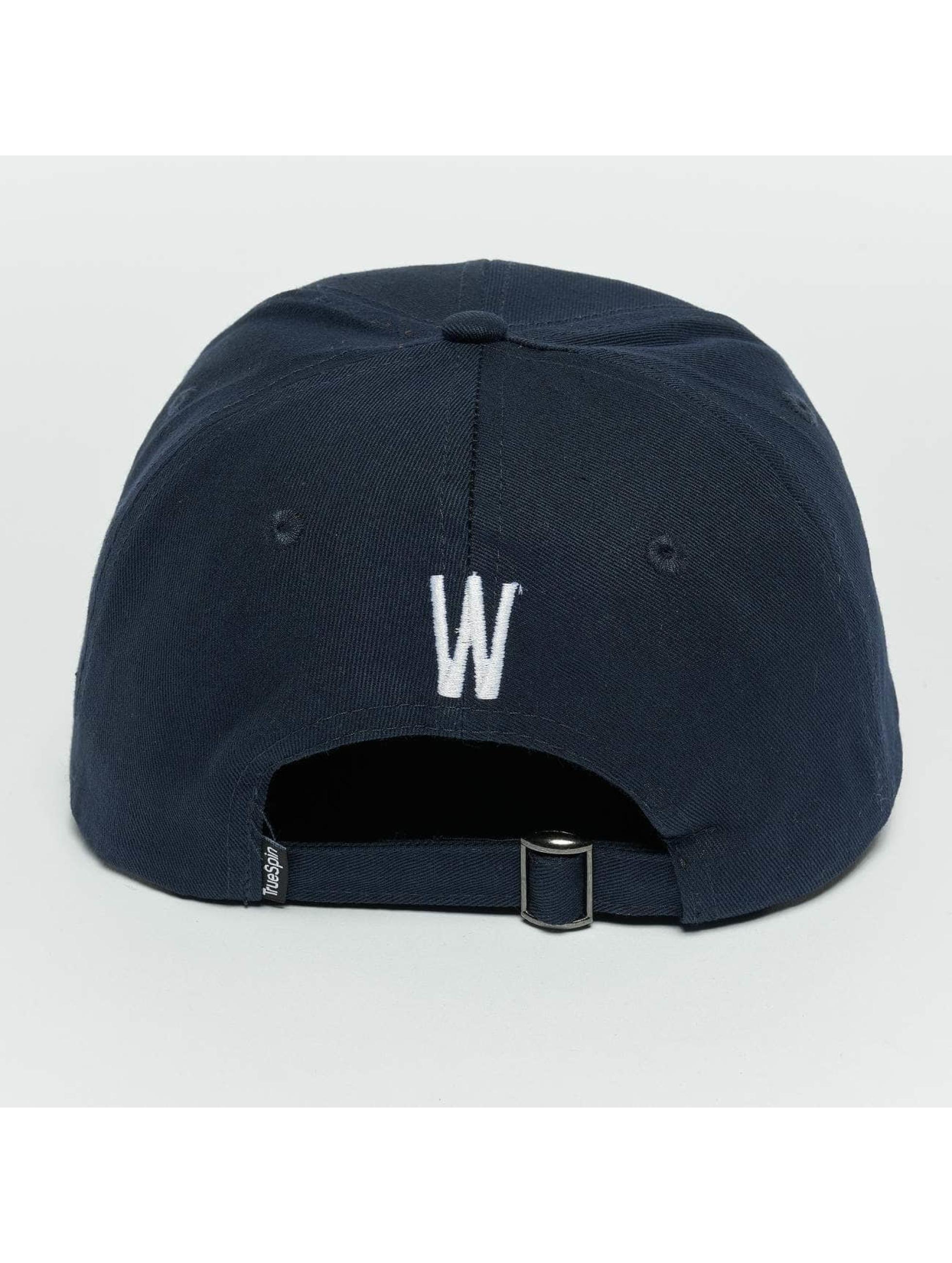 TrueSpin Snapback Cap ABC W blue