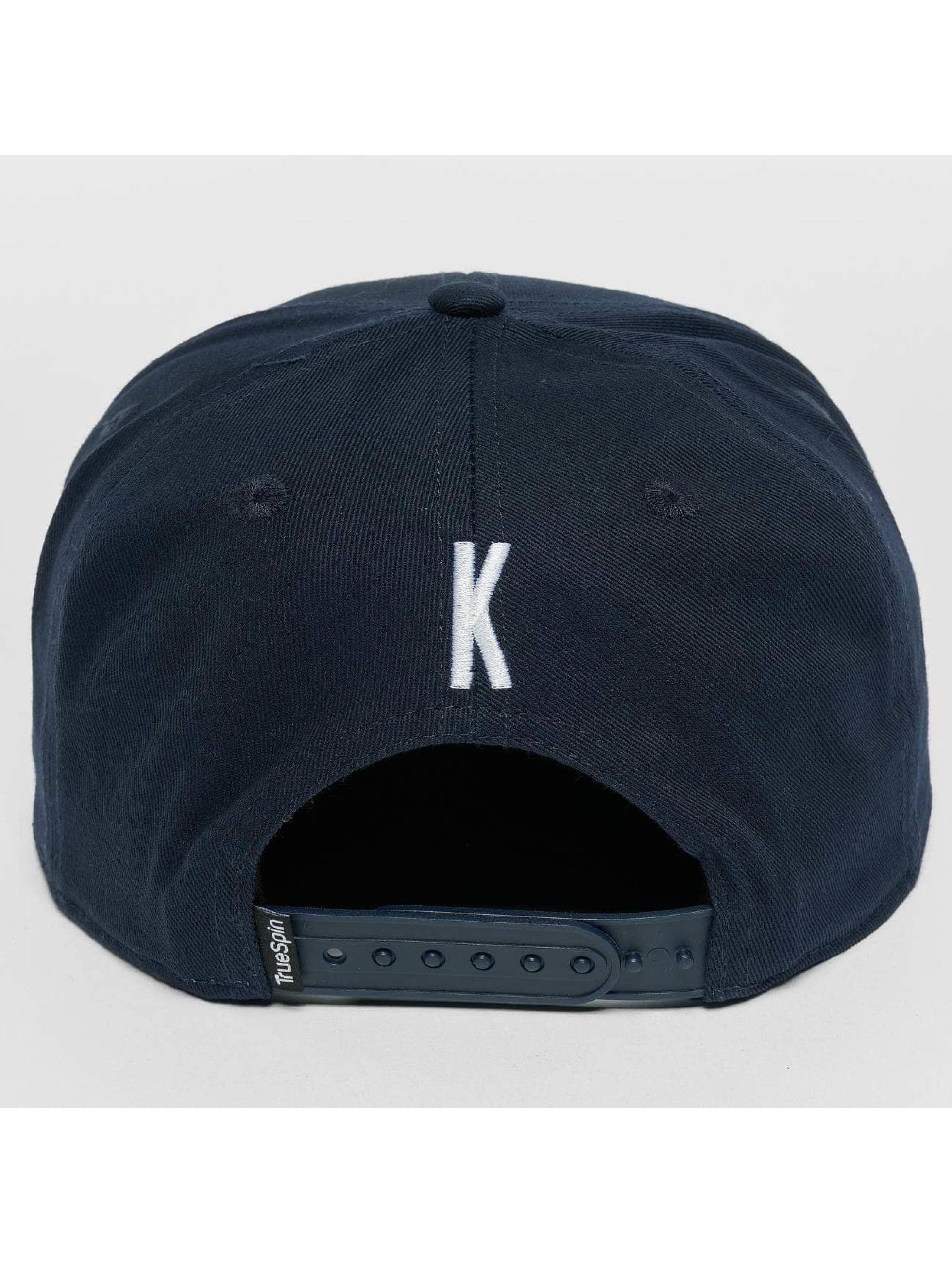 TrueSpin Snapback Cap Kids ABC K blue