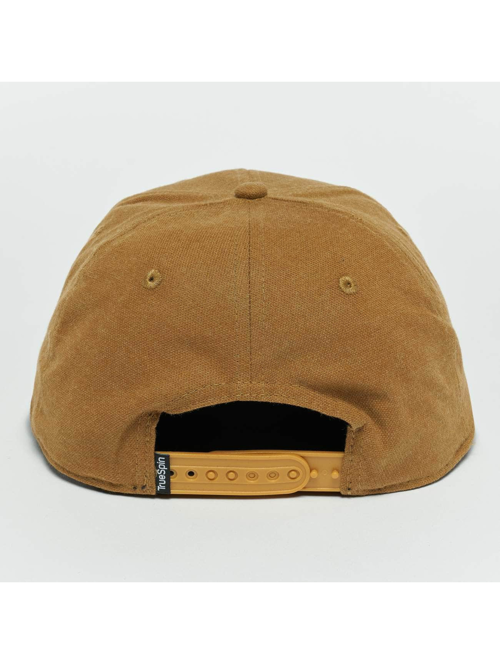 TrueSpin Snapback Cap Decent brown