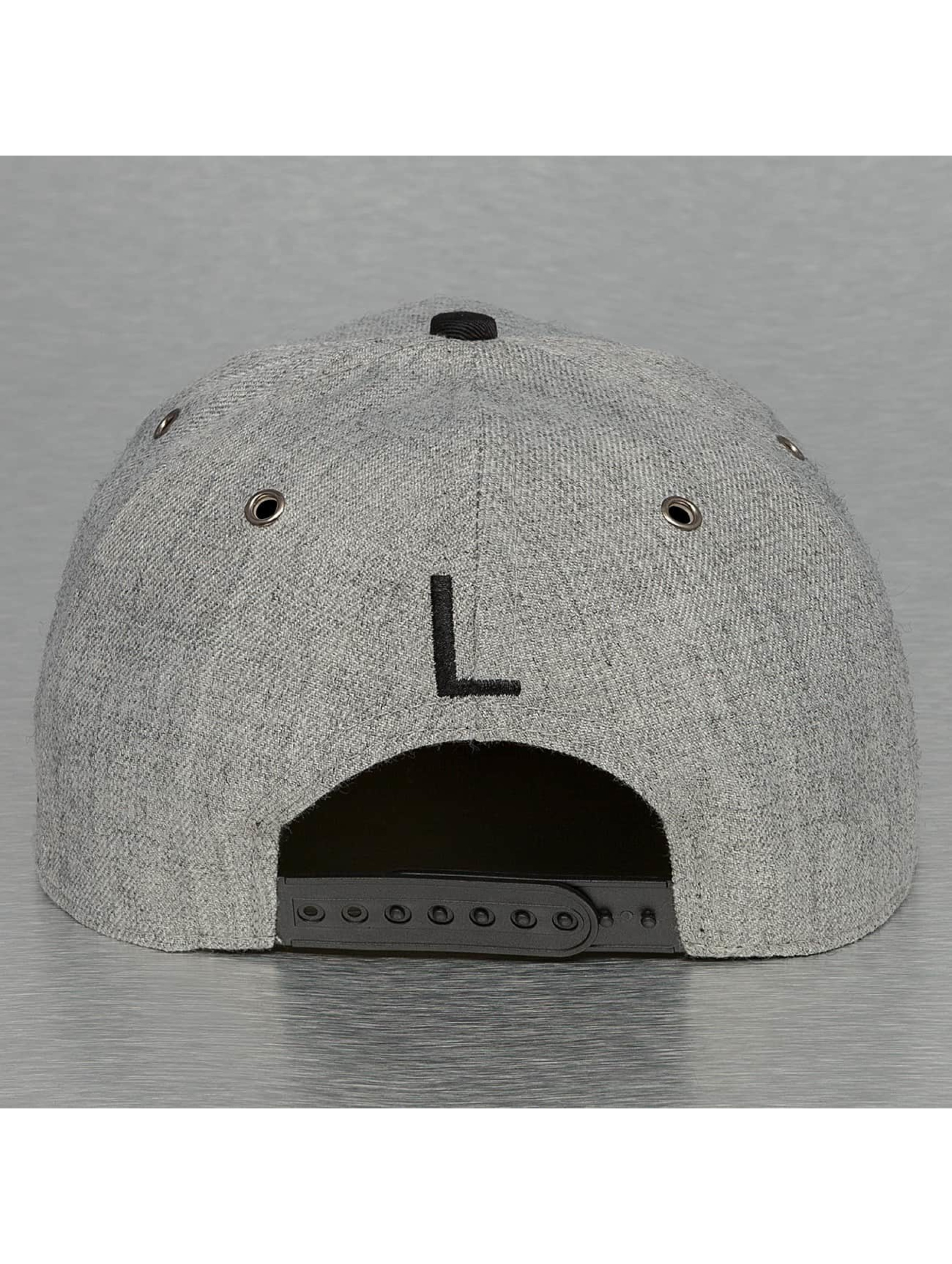TrueSpin Snapback Cap ABC-L Wool grau