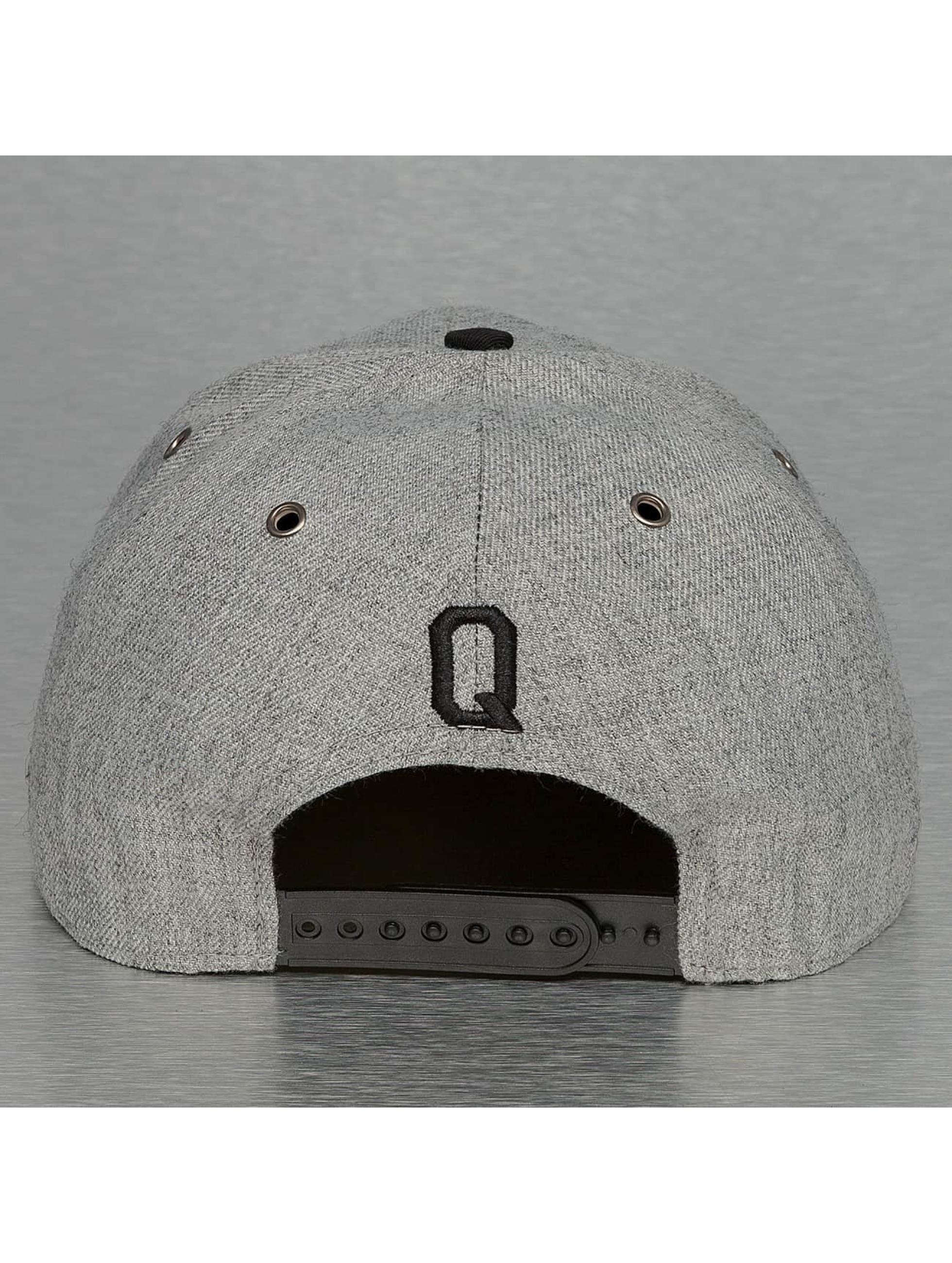 TrueSpin Snapback Cap ABC-Q Wool grau