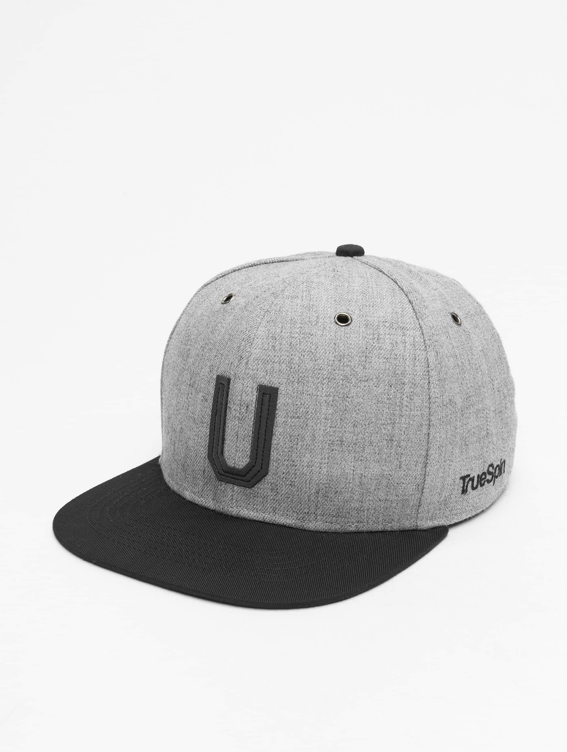 TrueSpin Snapback Cap ABC-U Wool grau