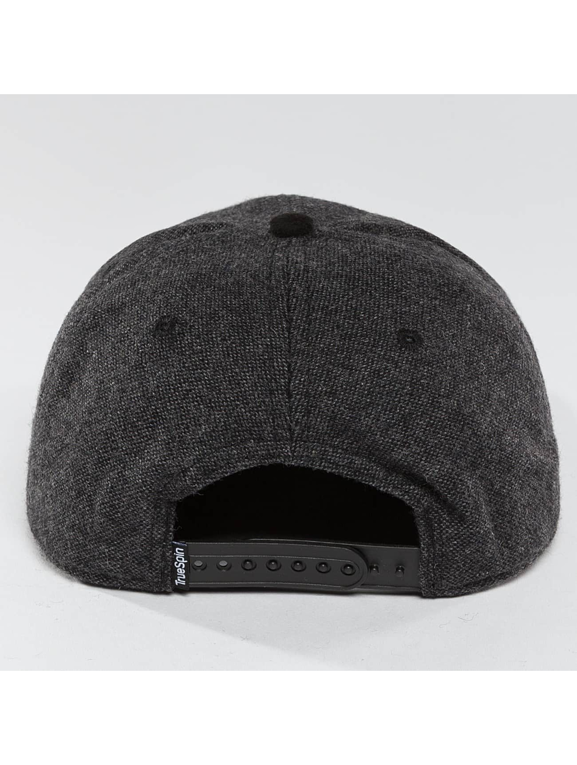 TrueSpin Snapback Cap Rubber Taper grau