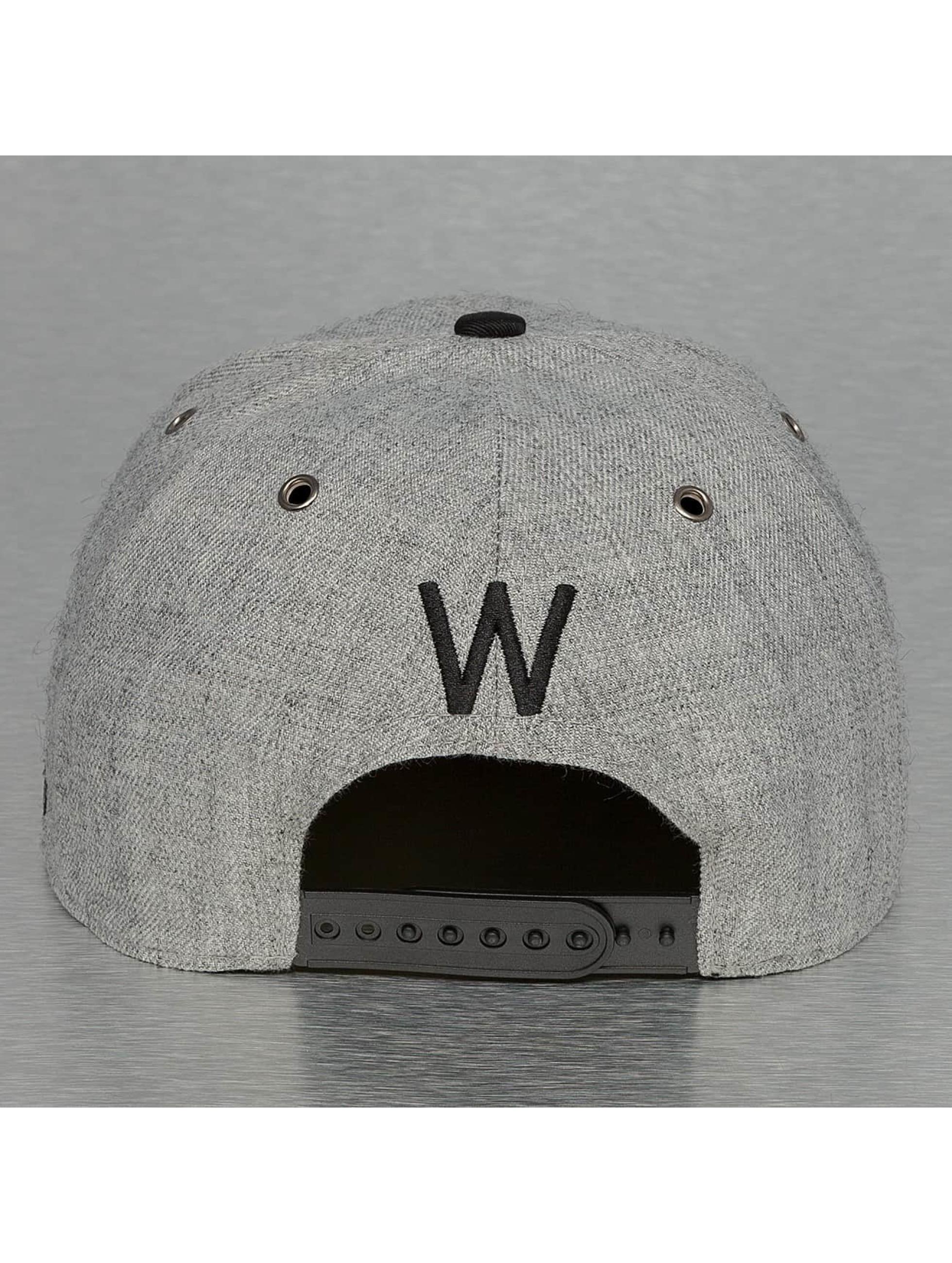 TrueSpin Snapback Cap ABC-W Wool gray