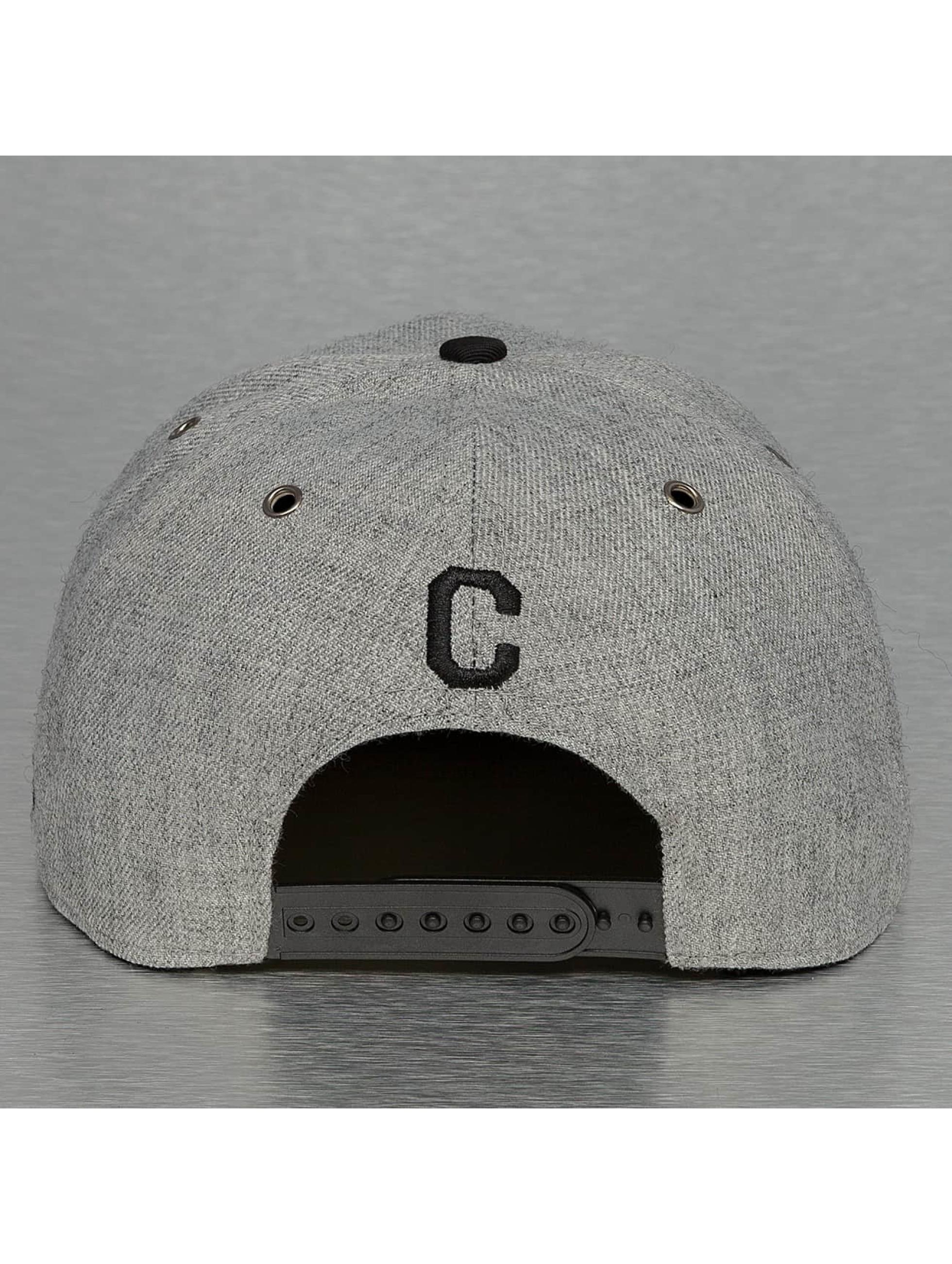 TrueSpin Snapback Cap ABC-C Wool grey