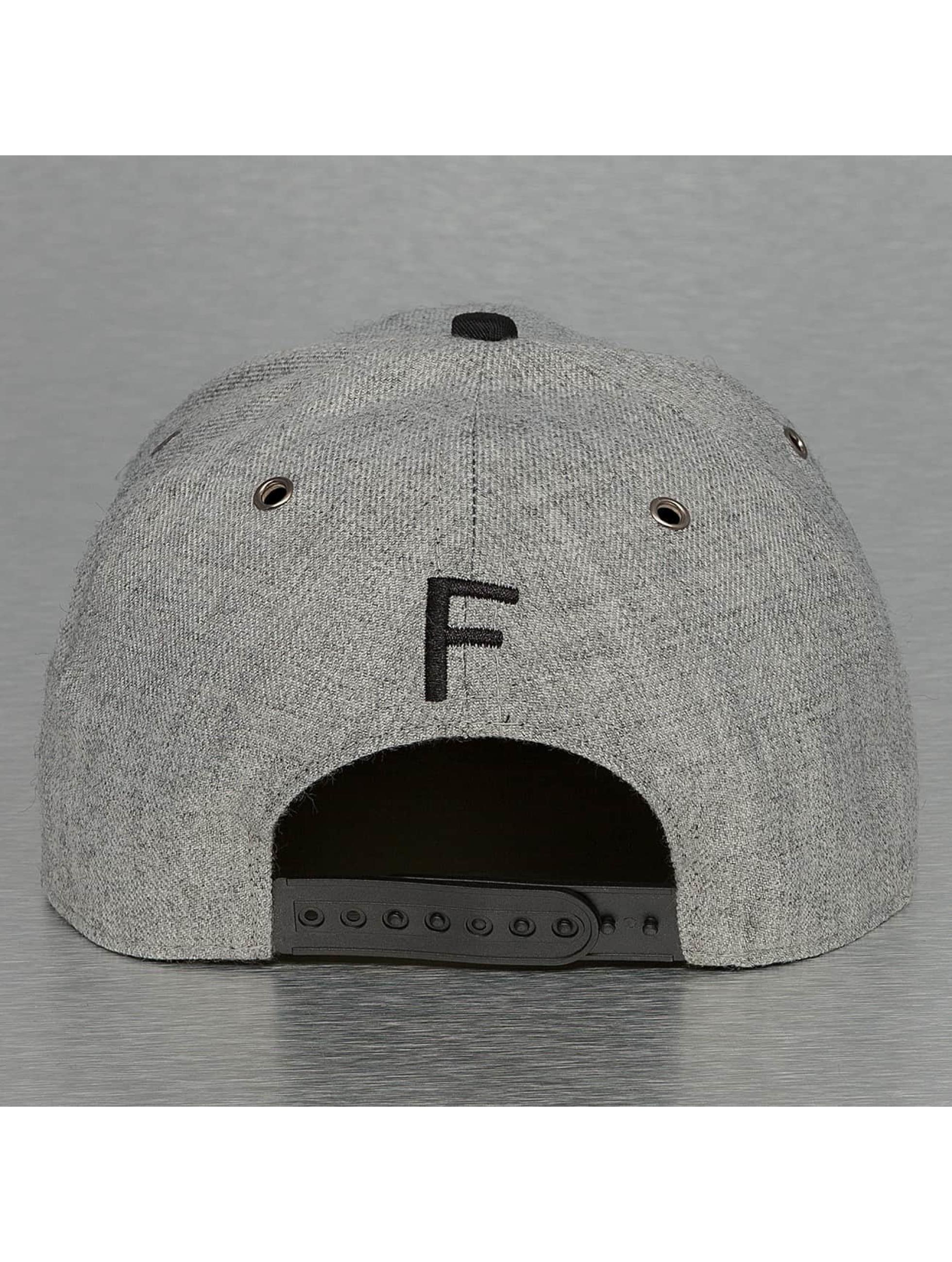 TrueSpin Snapback Cap ABC-F Wool grey