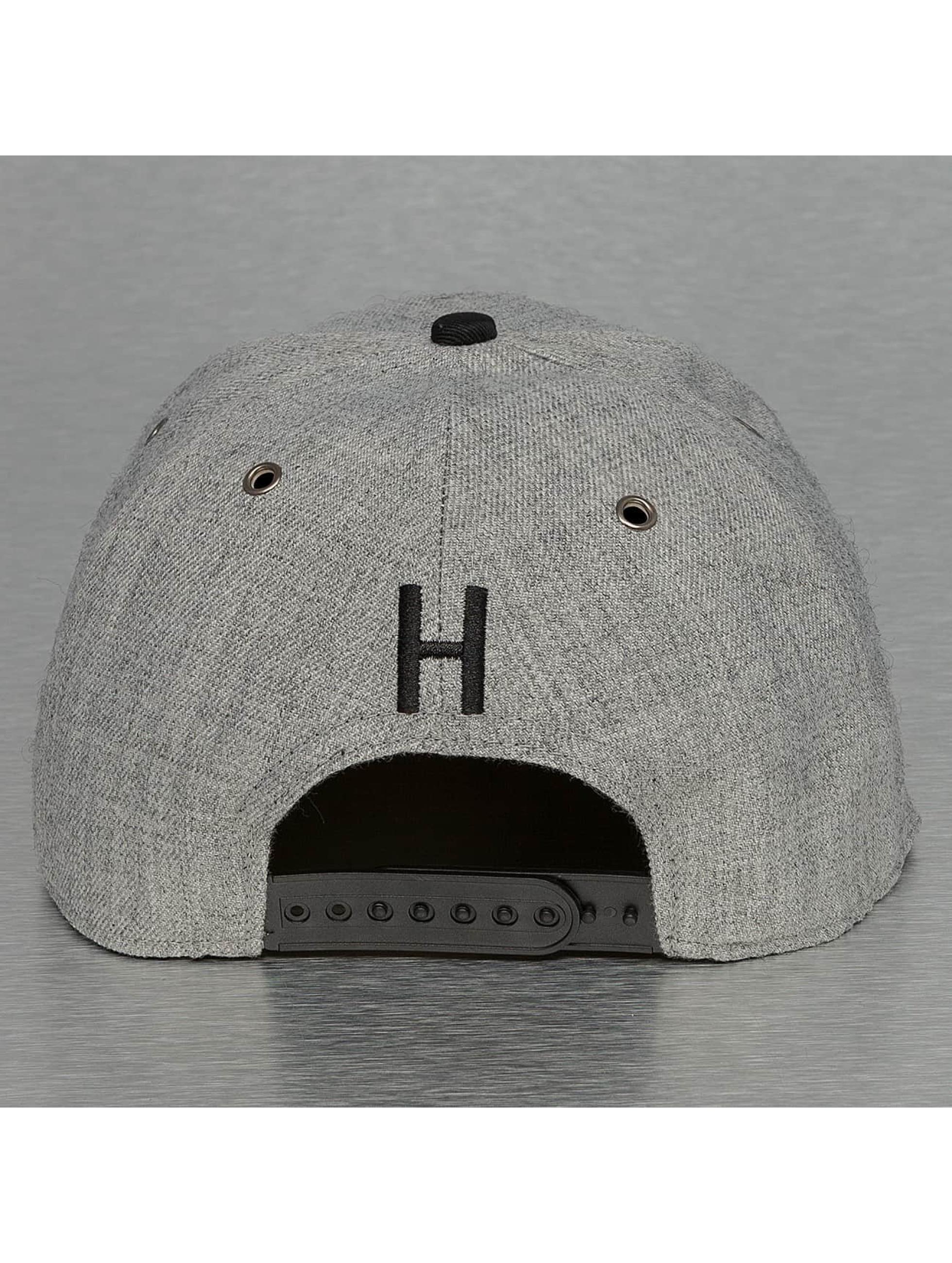 TrueSpin Snapback Cap ABC-H Wool grey