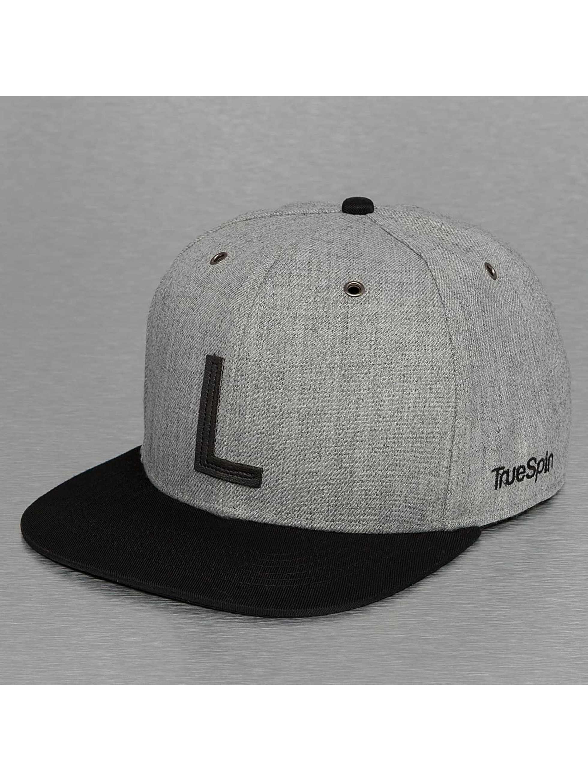 TrueSpin Snapback Cap ABC-L Wool grey
