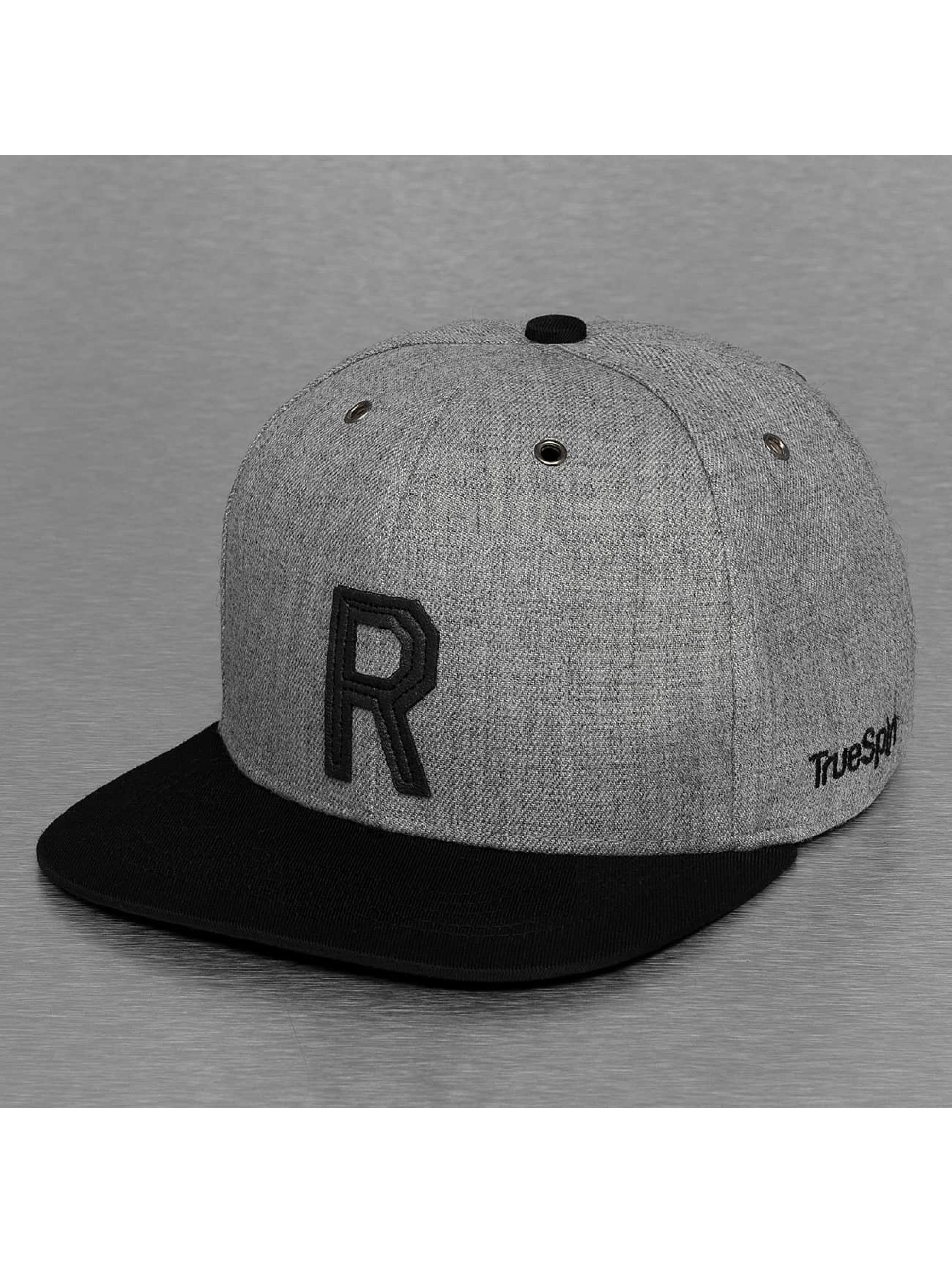 TrueSpin Snapback Cap ABC-R Wool grey