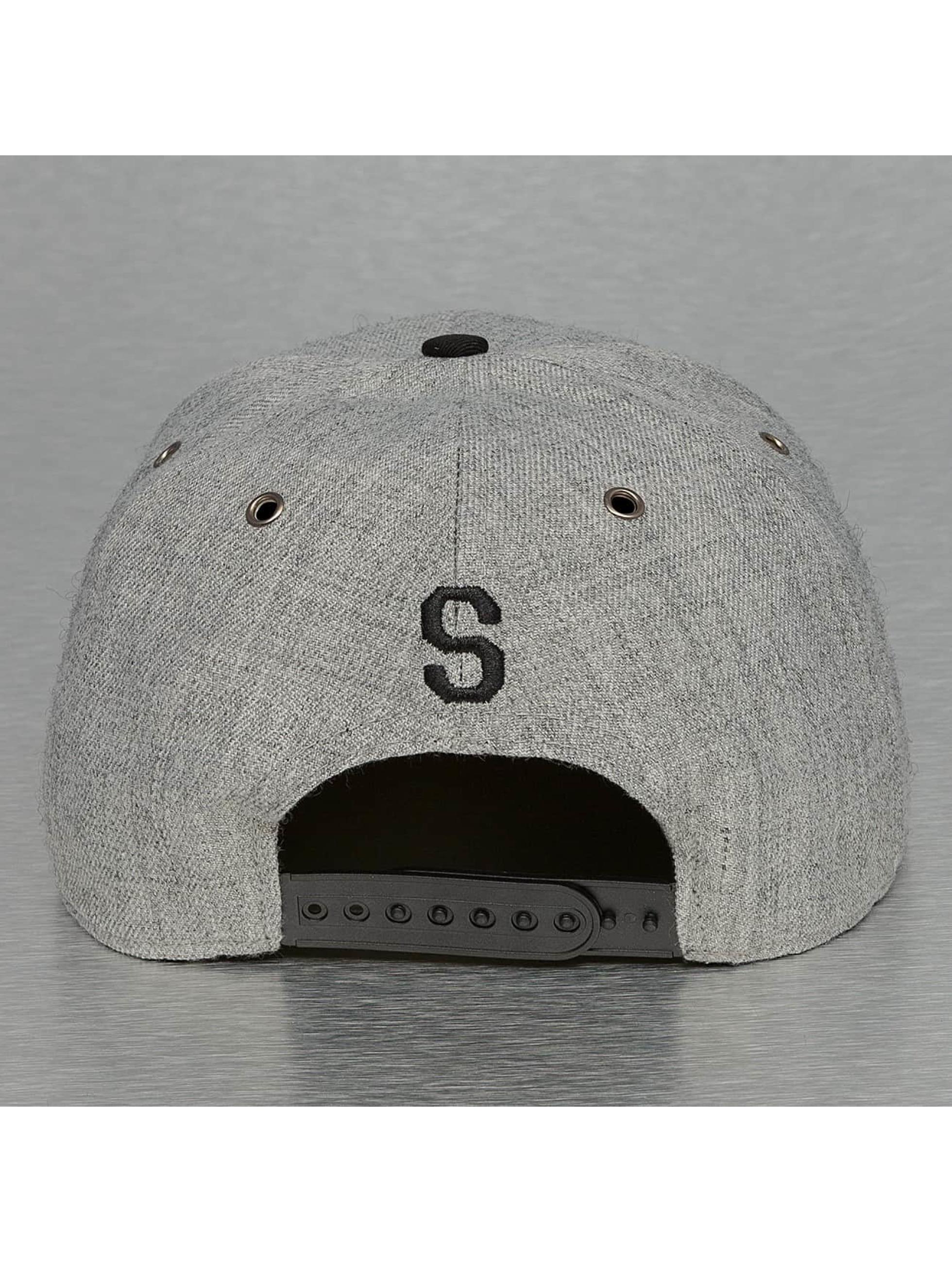 TrueSpin Snapback Cap ABC-S Wool grey