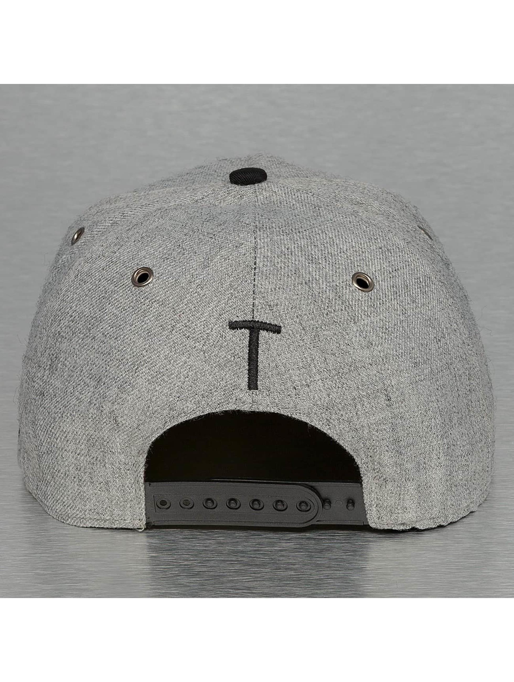 TrueSpin Snapback Cap ABC-T Wool grey