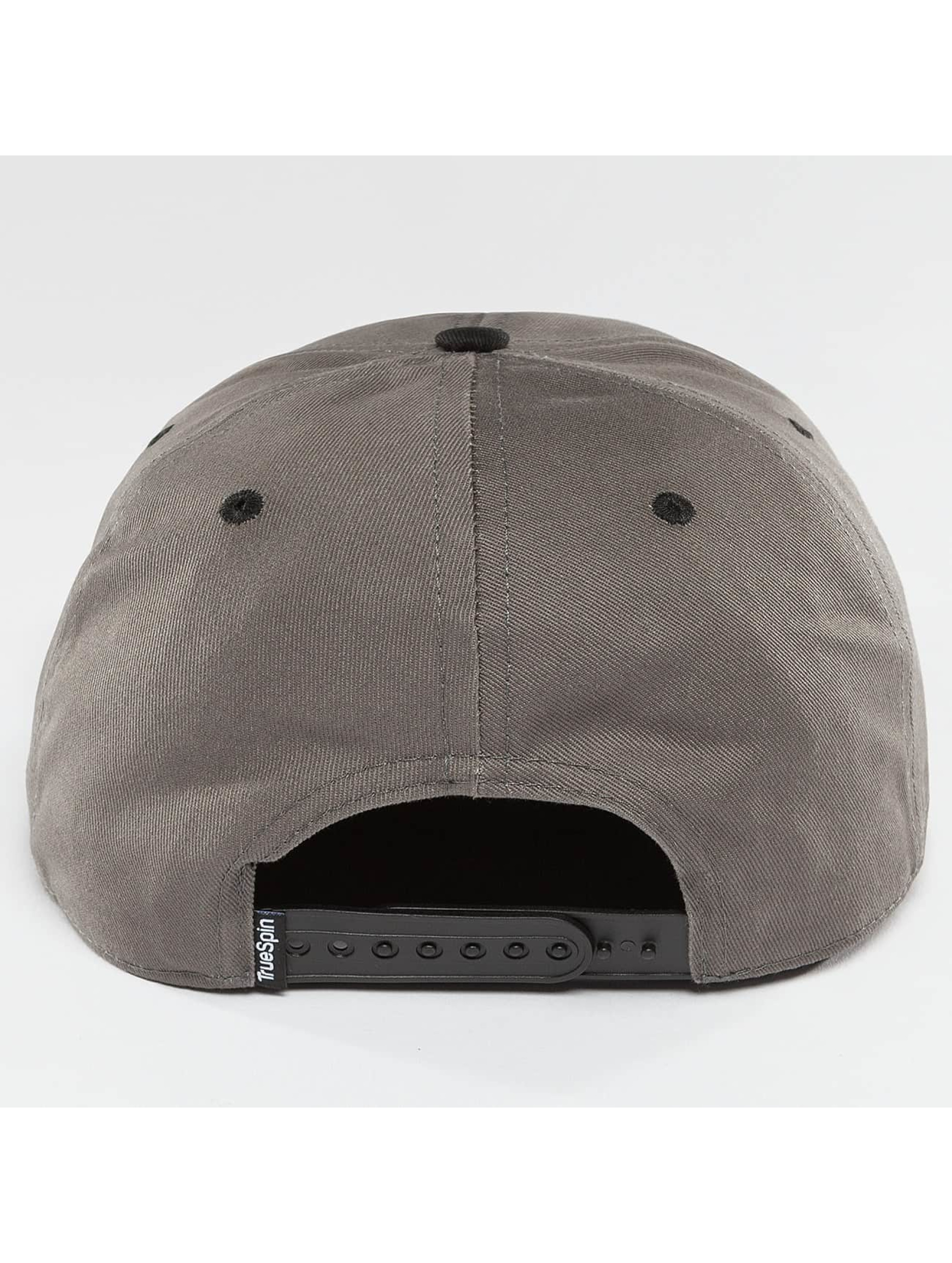 TrueSpin Snapback Cap Shorty SUP grey
