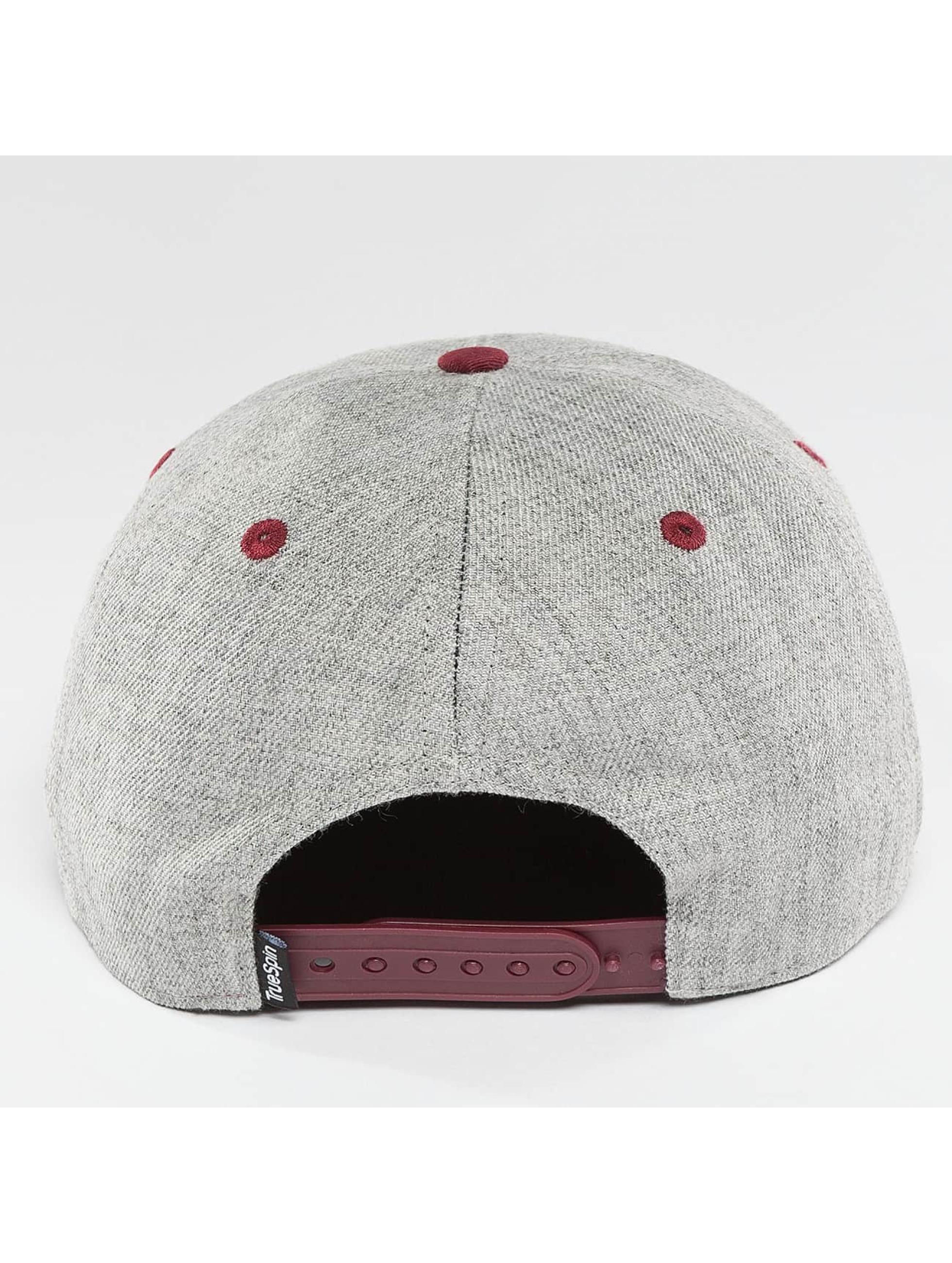 TrueSpin Snapback Cap 4 Letters Busy grigio
