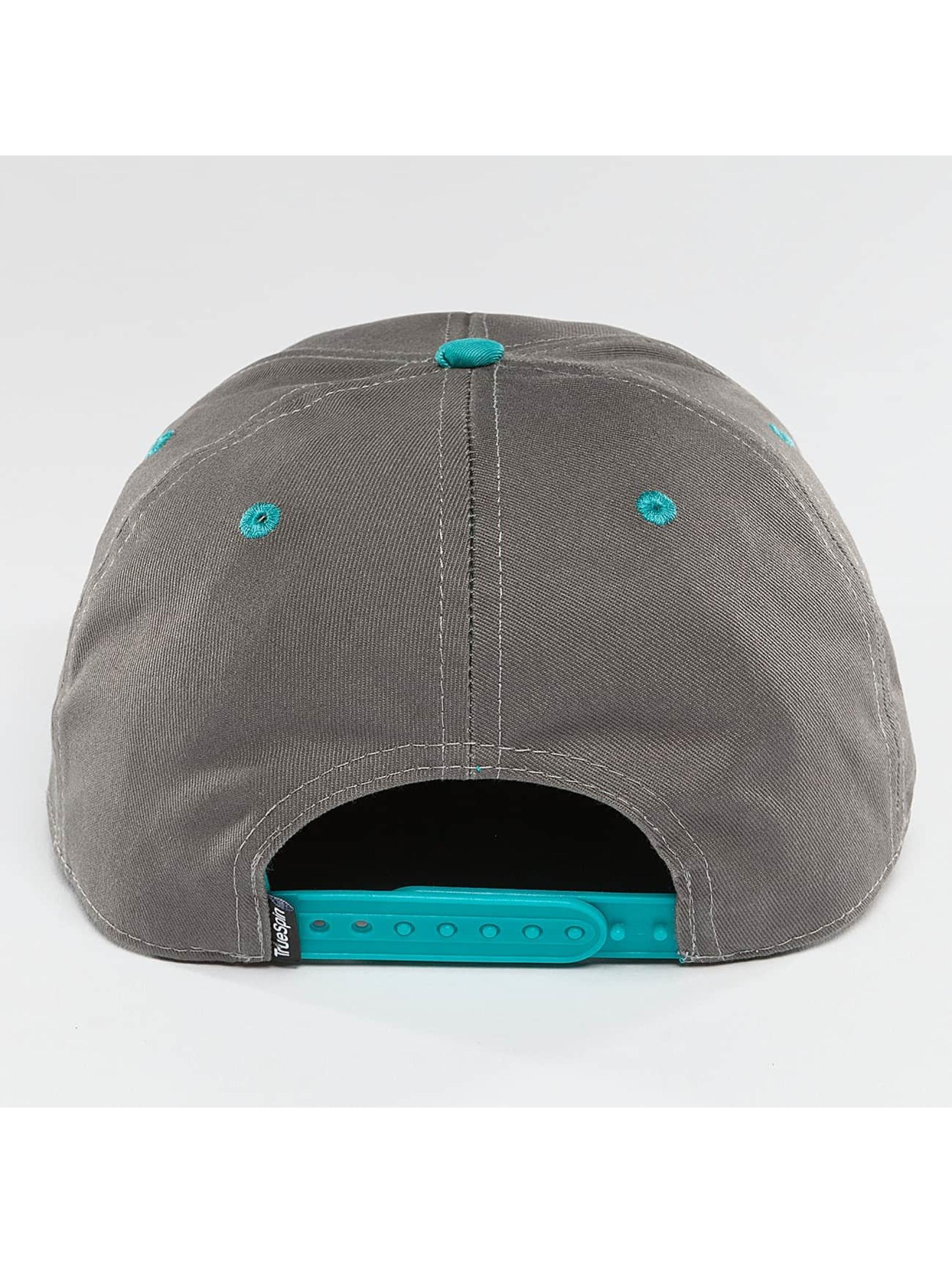 TrueSpin Snapback Cap Team TRSPN grigio