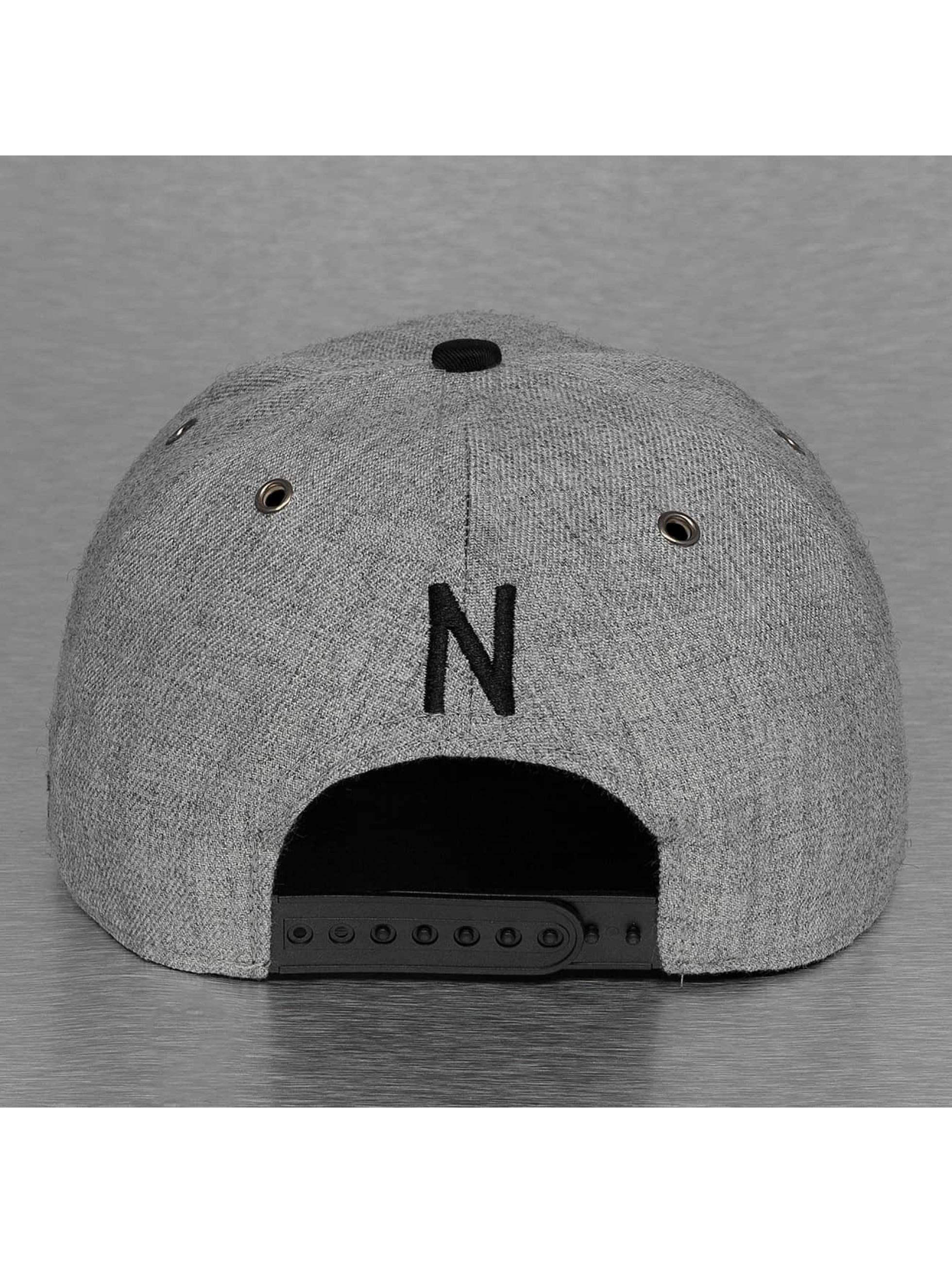 TrueSpin snapback cap ABC-N Wool grijs