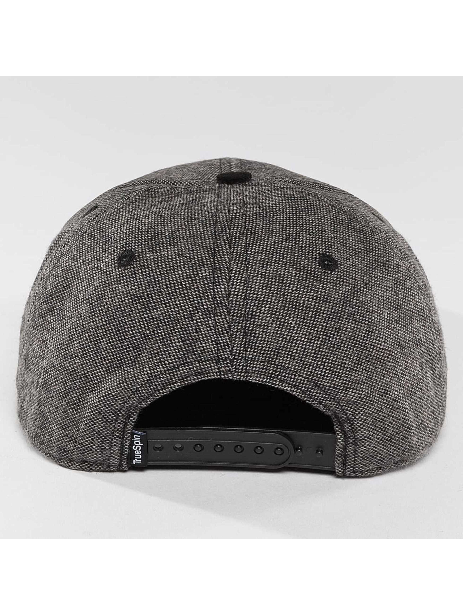 TrueSpin snapback cap TSSBRTAPE grijs