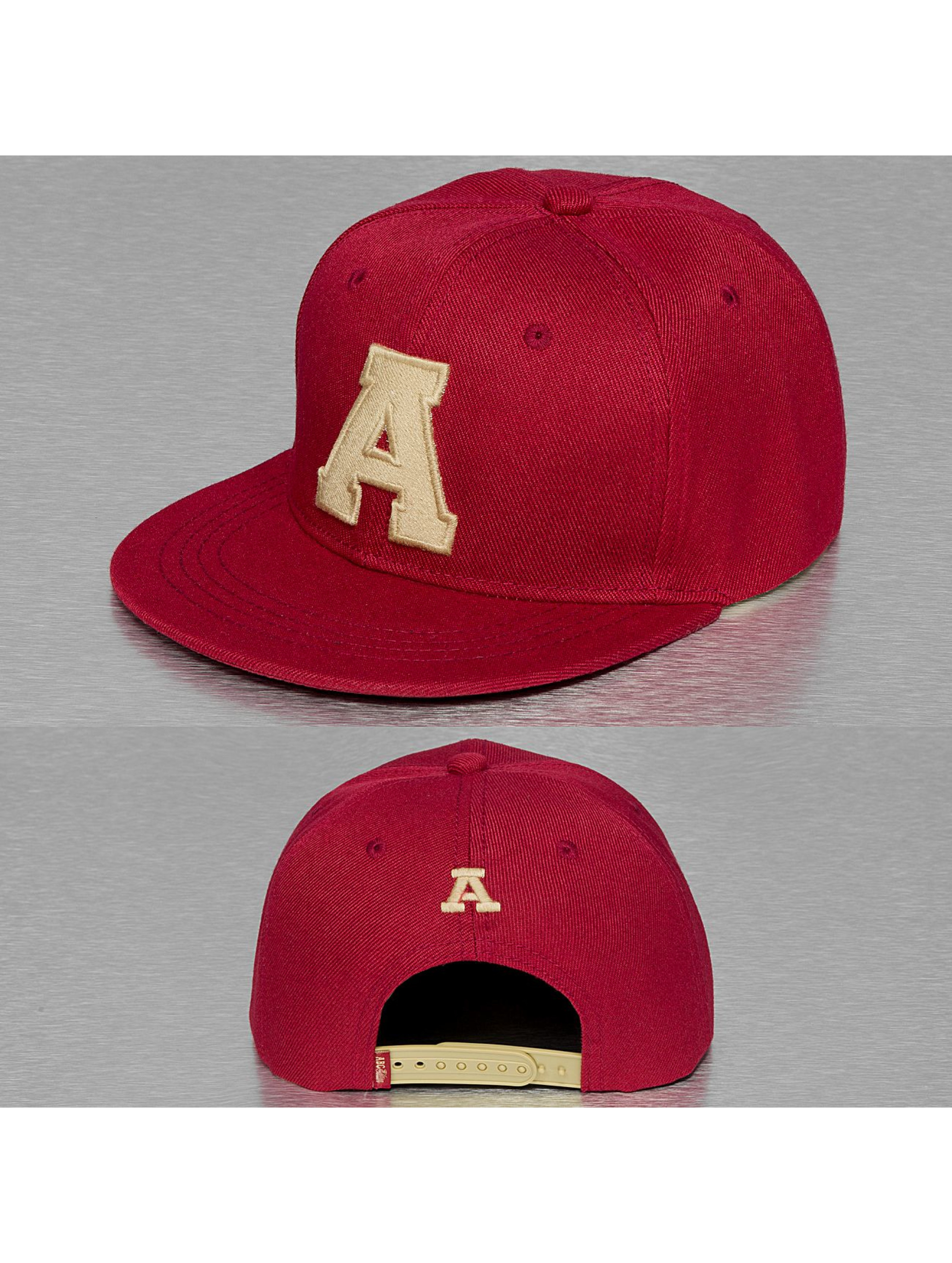 TrueSpin snapback cap A-ABC Edition rood