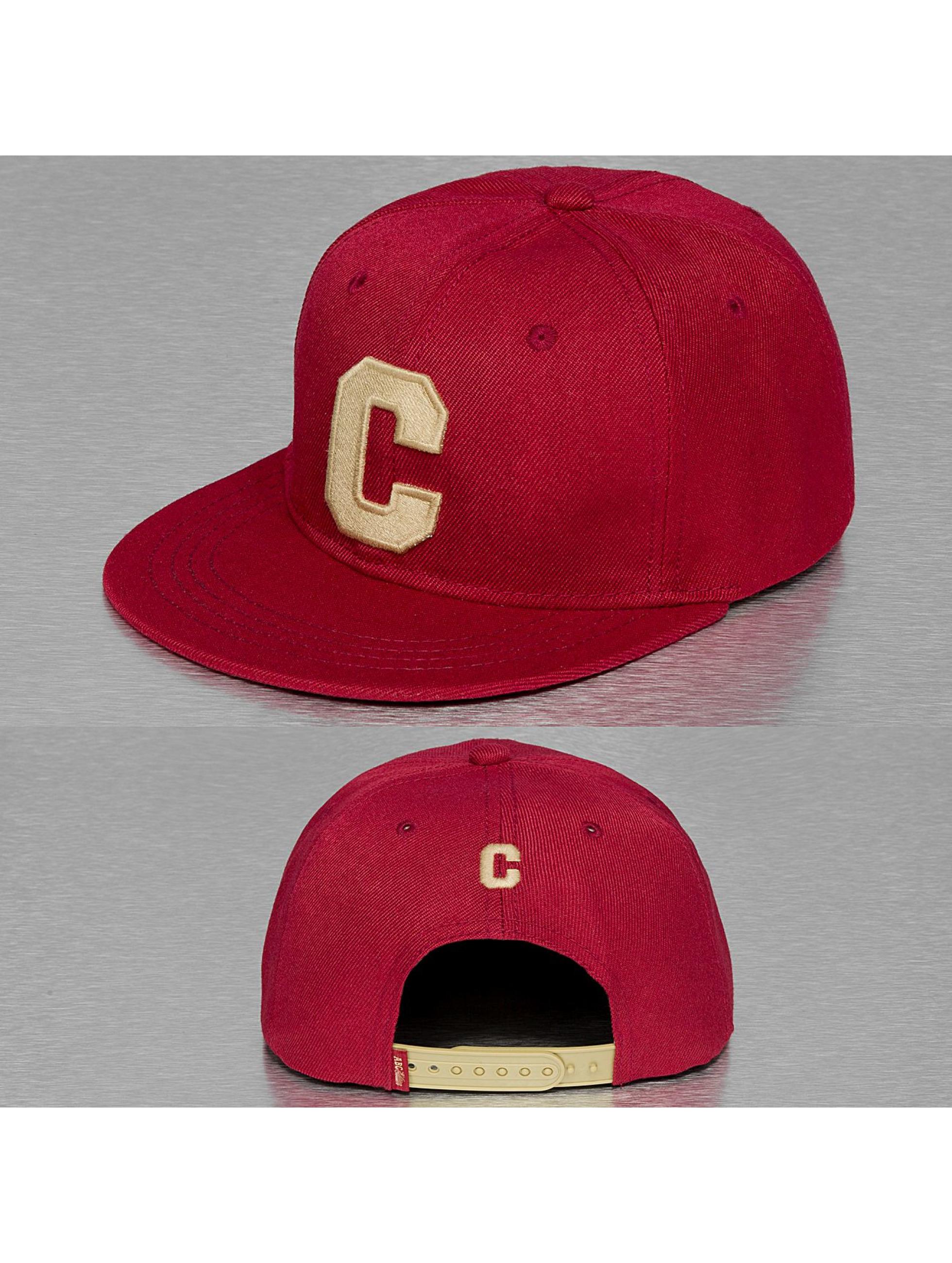 TrueSpin snapback cap C-ABC Edition rood