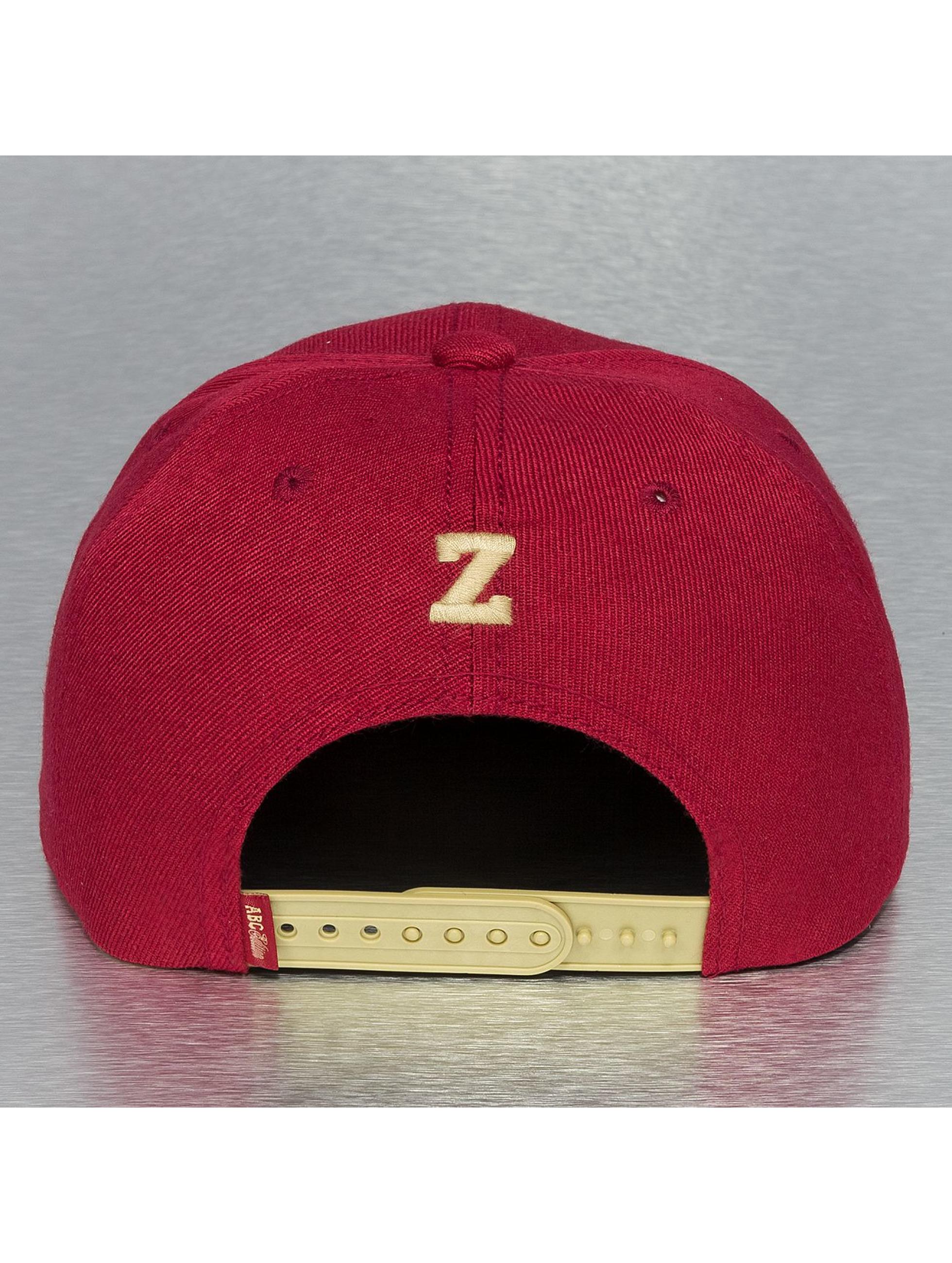 TrueSpin snapback cap ABC Edition rood