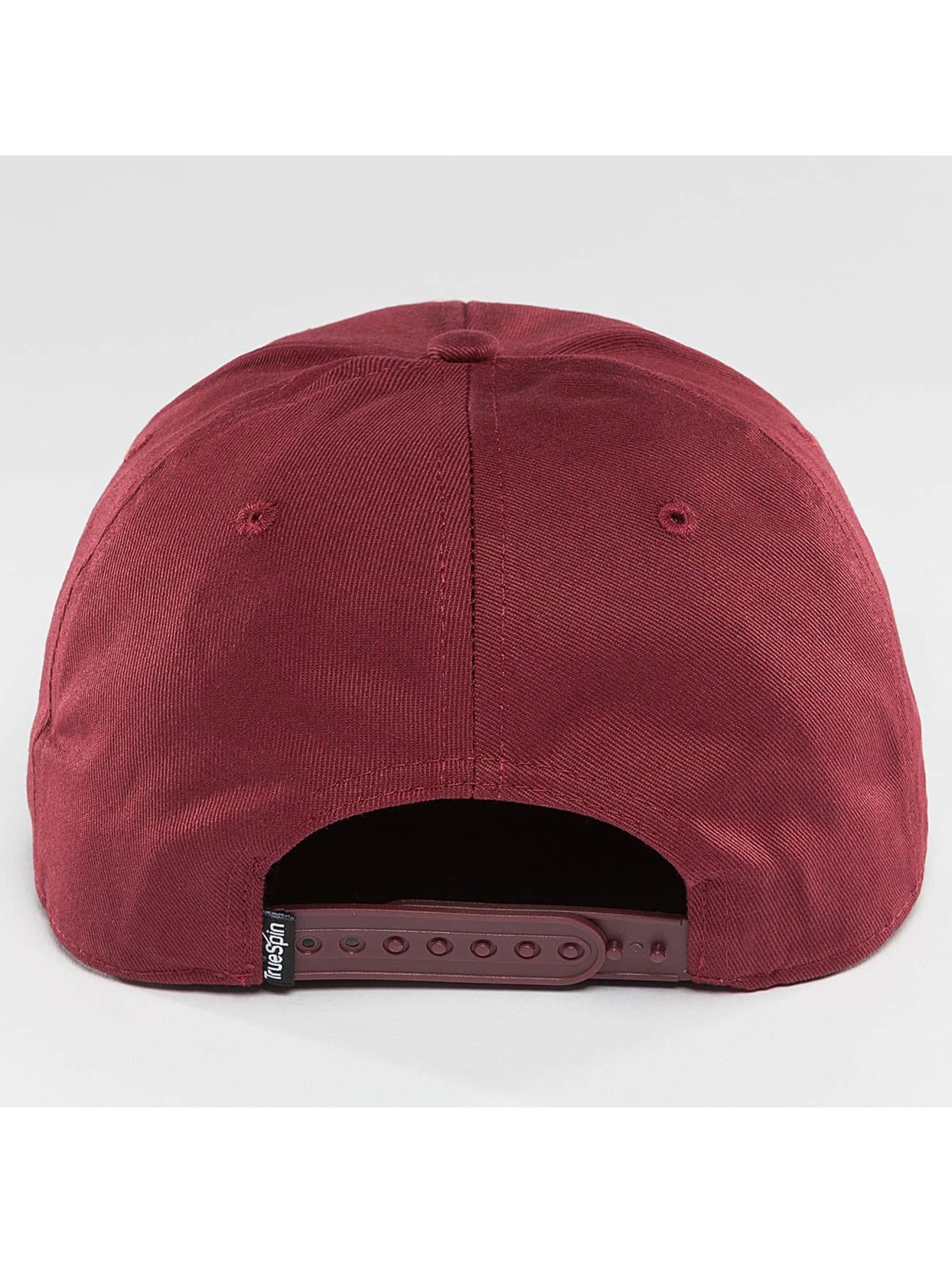 TrueSpin snapback cap Täskulap rood