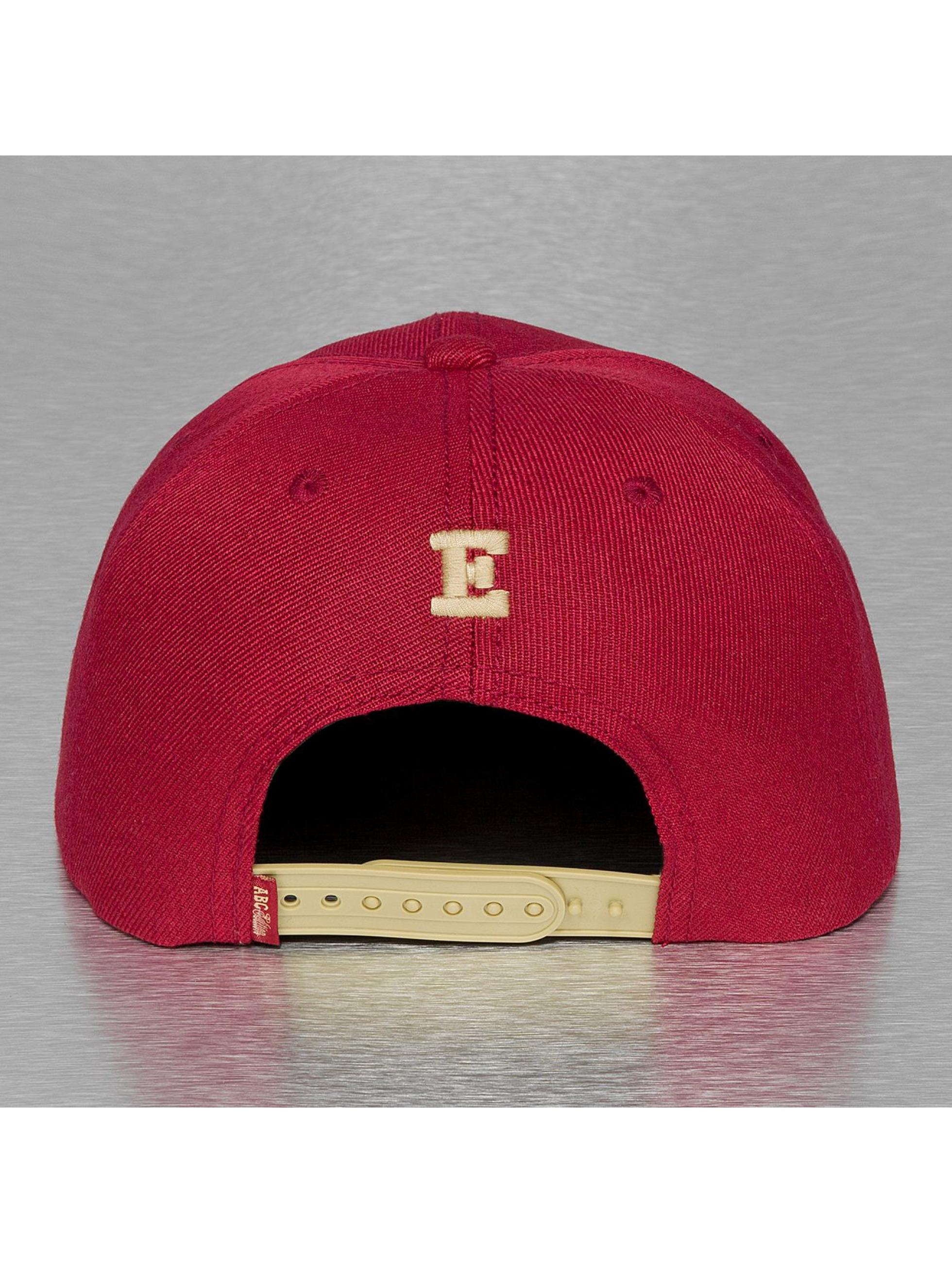 TrueSpin Snapback Cap E-ABC Edition rot