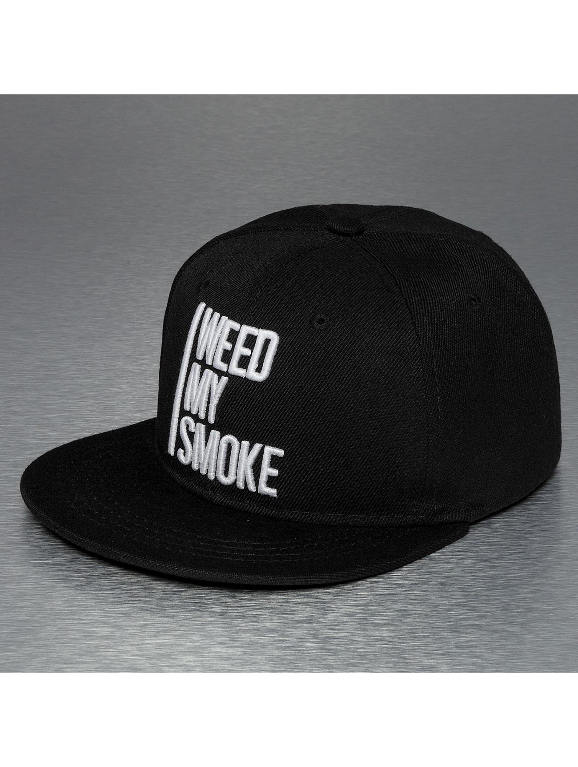 a60fb1e8b86 TrueSpin Snapback Cap Weed My Smoke in schwarz 119481