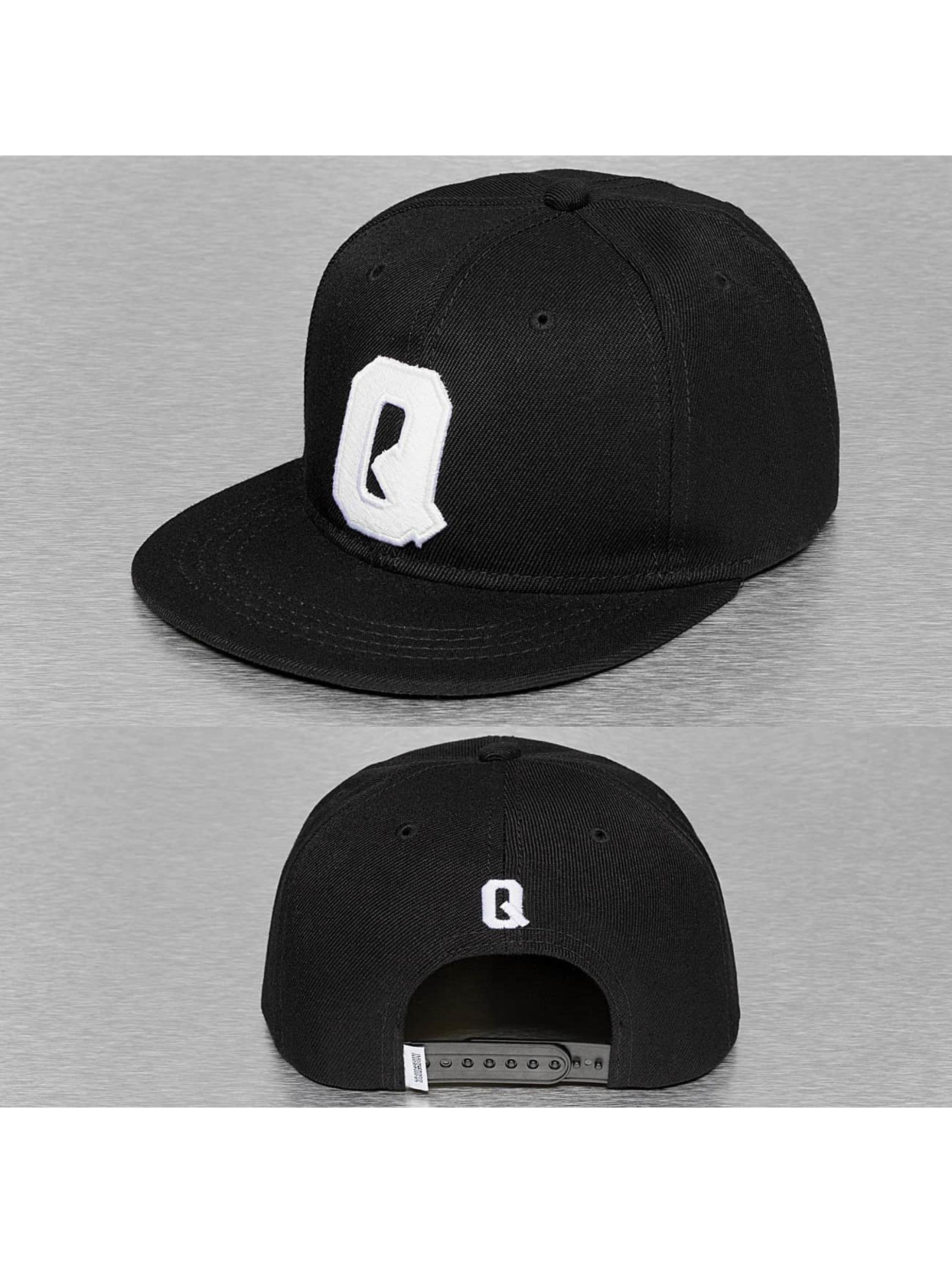 TrueSpin Snapback Cap Q-ABC schwarz